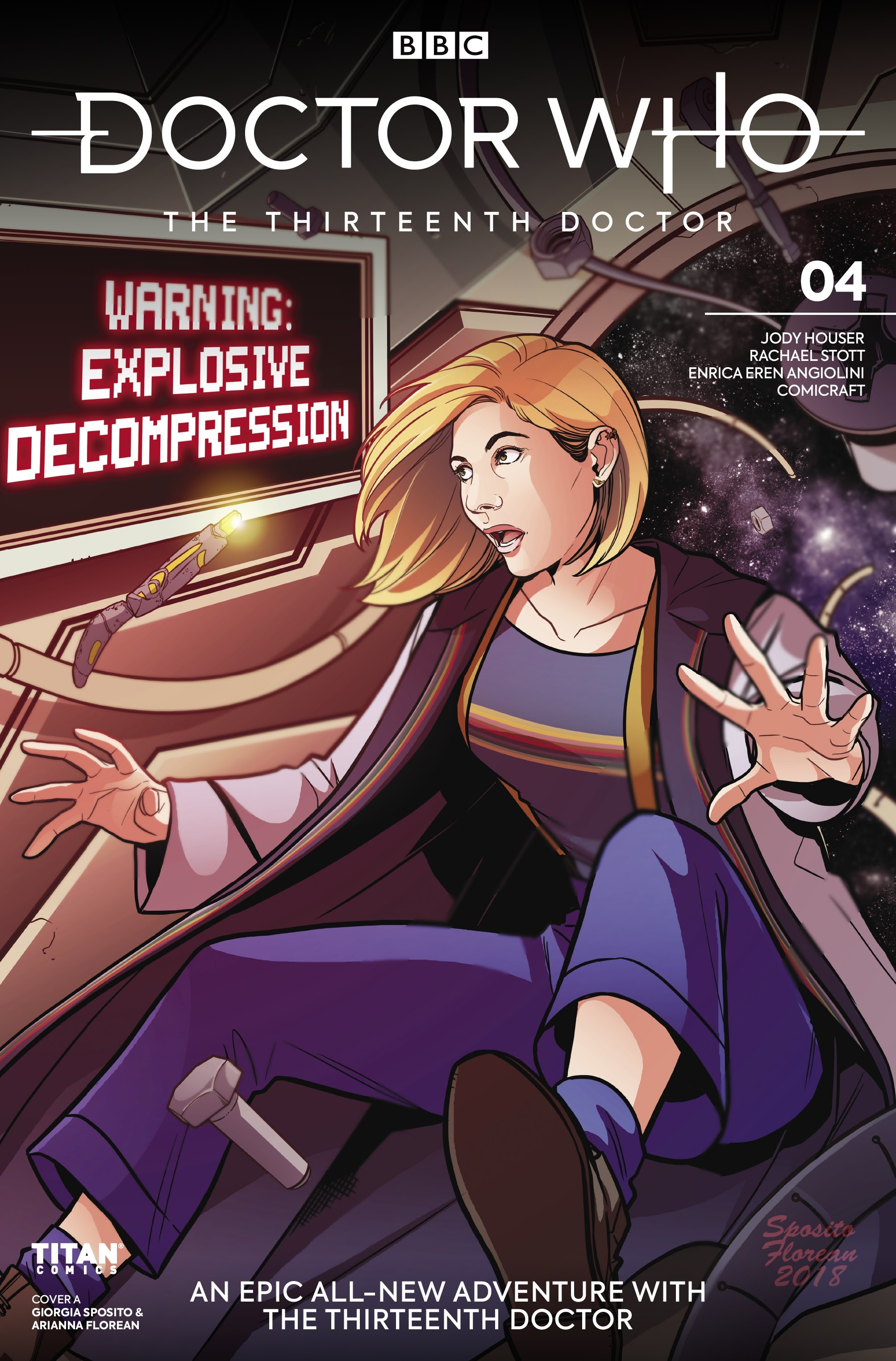 Doctor Who: The Thirteenth Doctor 4 Page 1