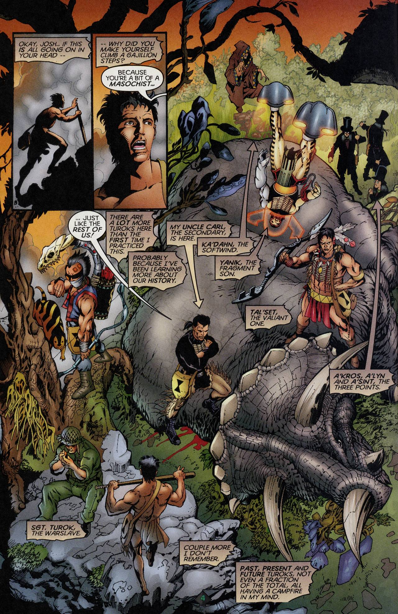 Read online Turok: Tales of the Lost Land comic -  Issue # Full - 4