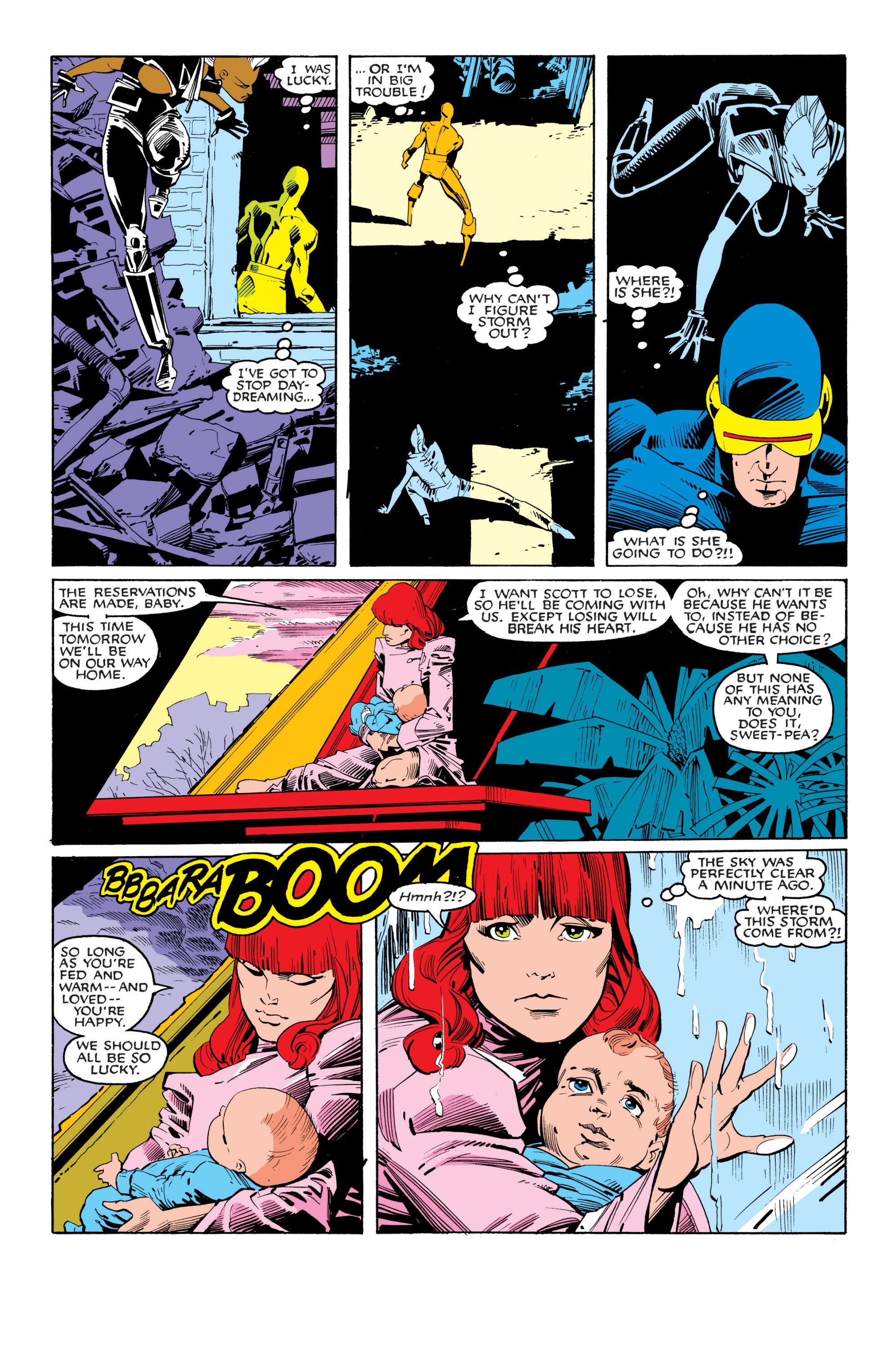 Read online Uncanny X-Men (1963) comic -  Issue #201 - 20