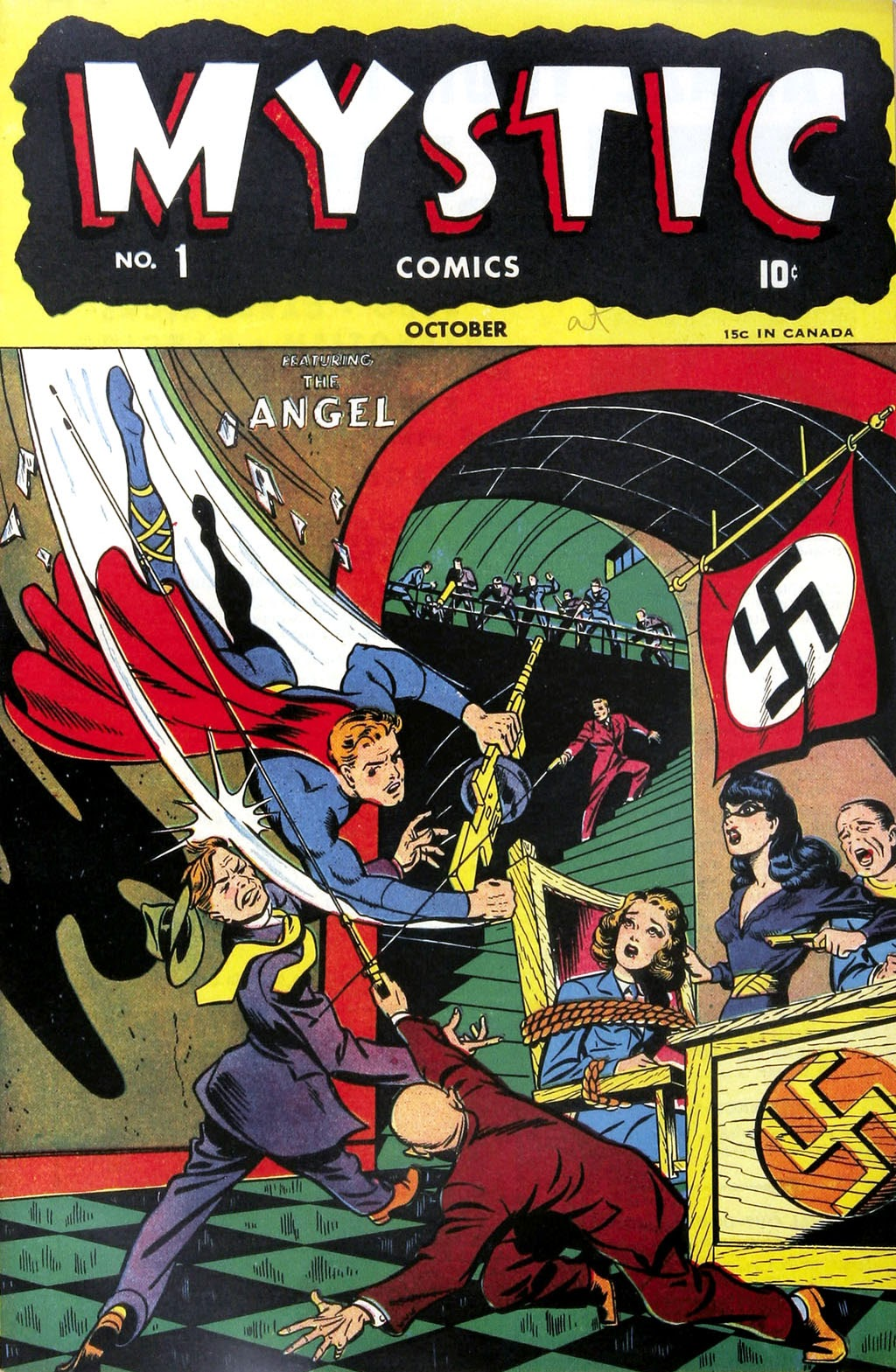 Read online Mystic Comics (1944) comic -  Issue #1 - 1
