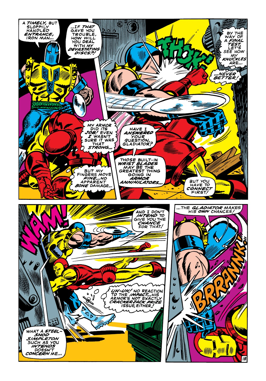 Read online Marvel Masterworks: The Invincible Iron Man comic -  Issue # TPB 5 (Part 2) - 30
