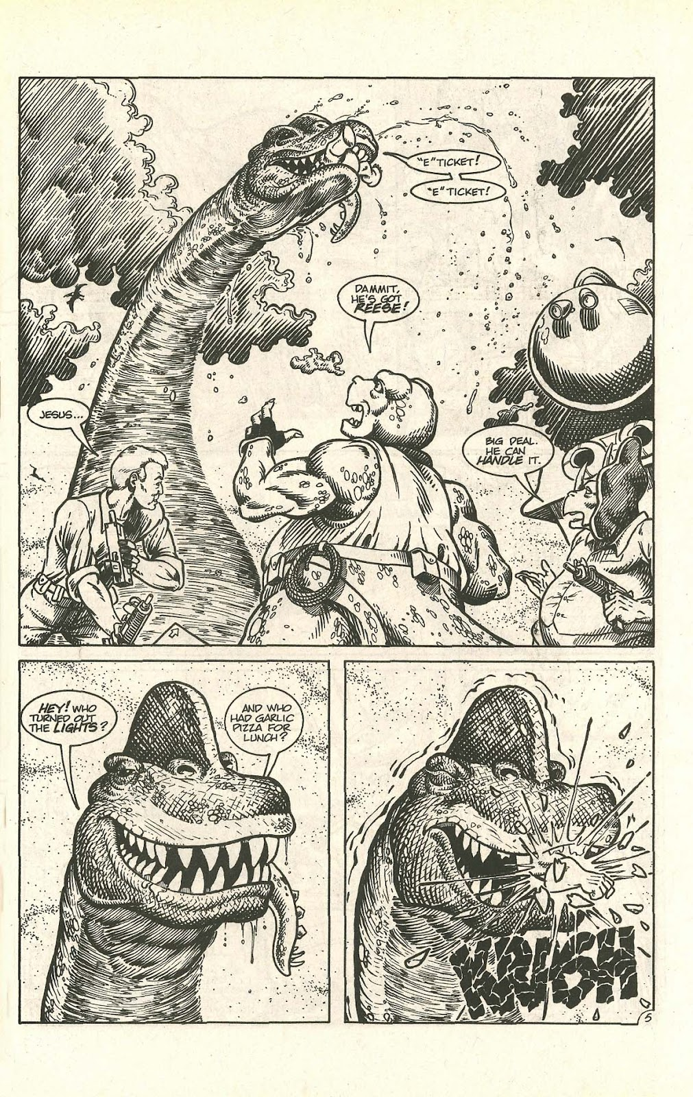 Dinosaurs For Hire (1988) issue 9 - Page 7