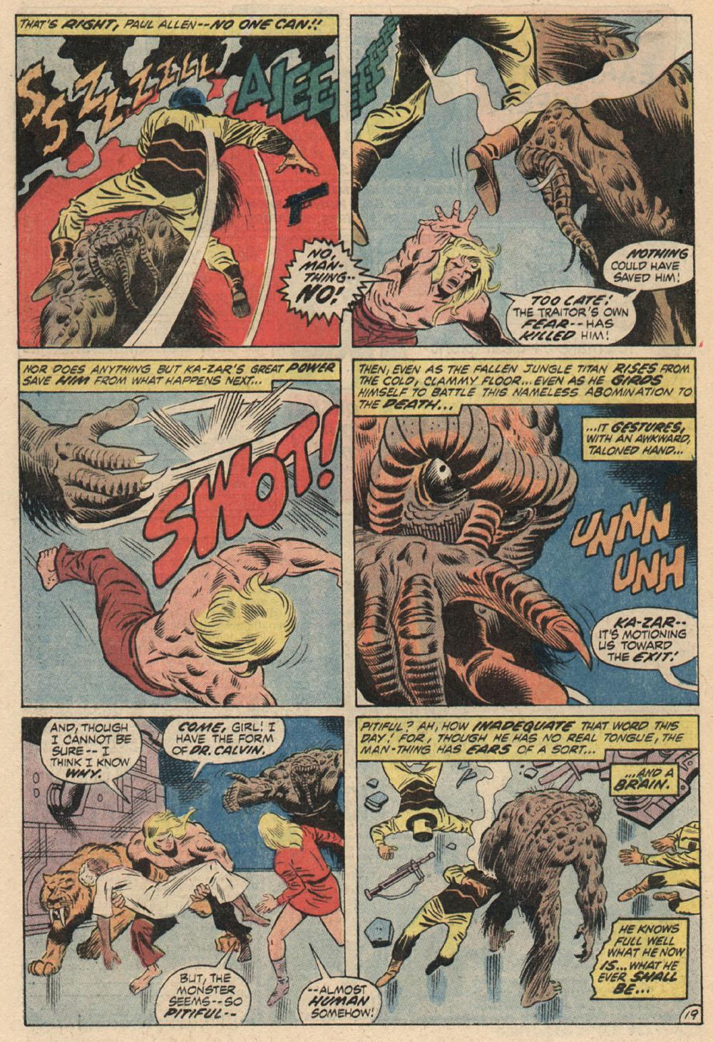 Read online Astonishing Tales (1970) comic -  Issue #13 - 21