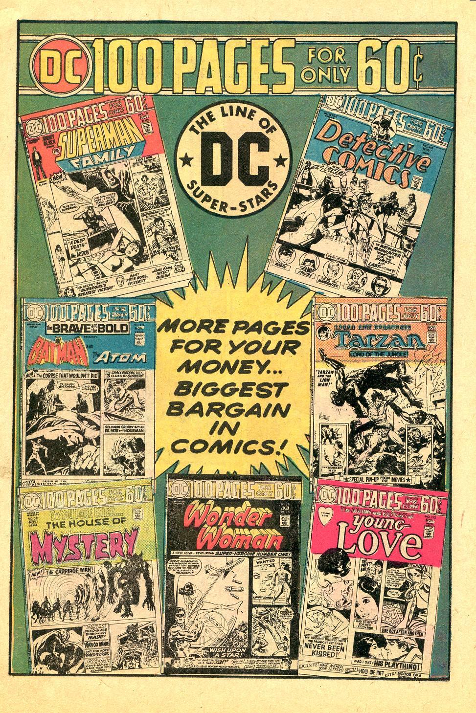 Read online Secret Origins (1973) comic -  Issue #7 - 14