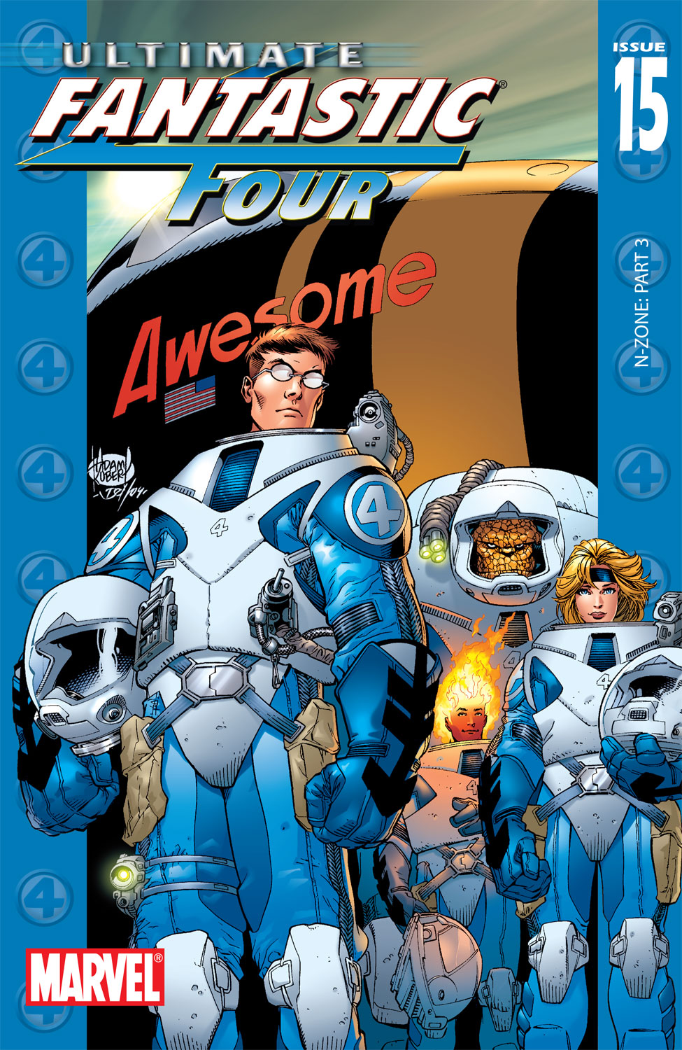 Read online Ultimate Fantastic Four (2004) comic -  Issue #15 - 1