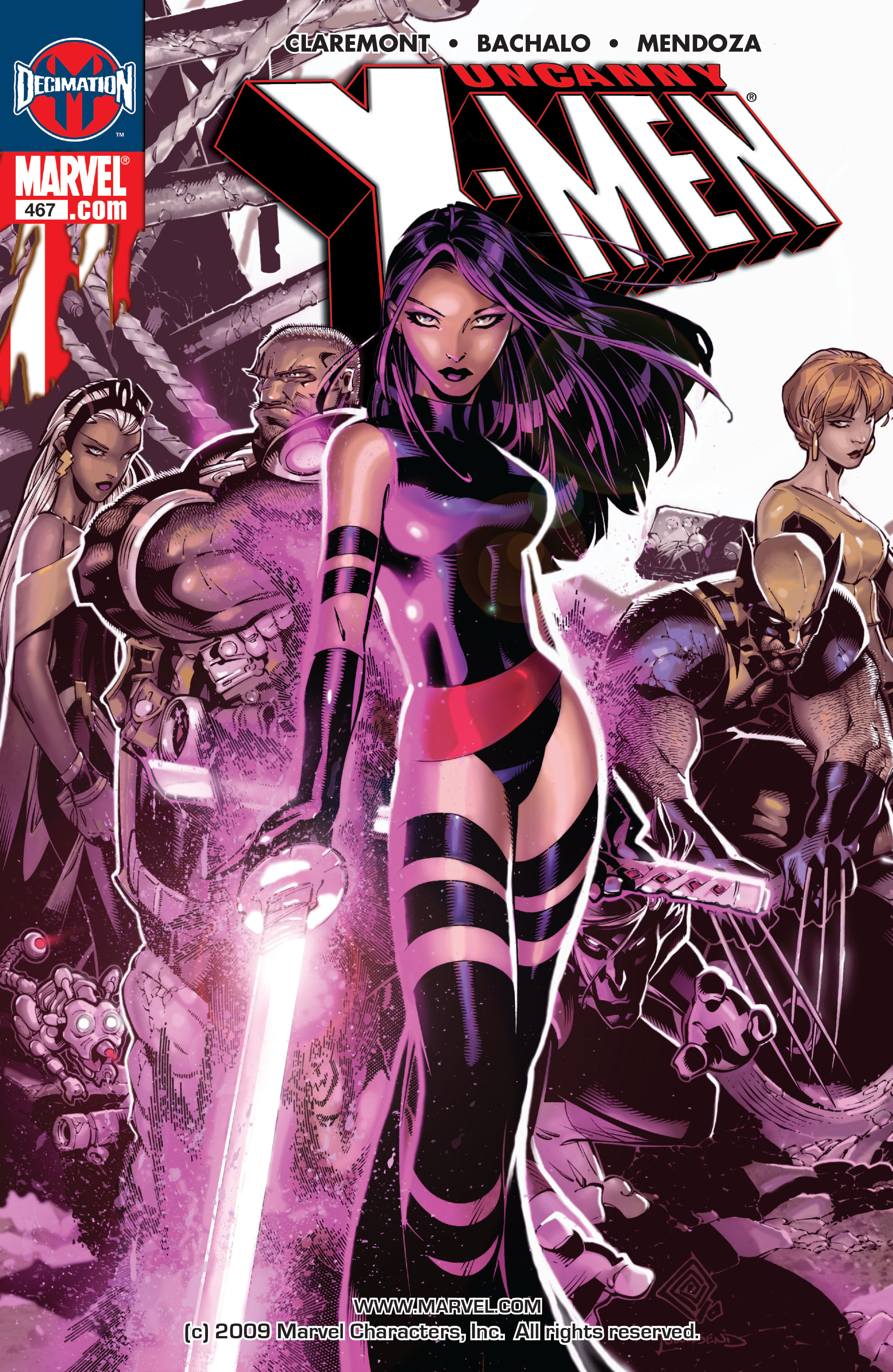 Read online Uncanny X-Men (1963) comic -  Issue #467 - 1