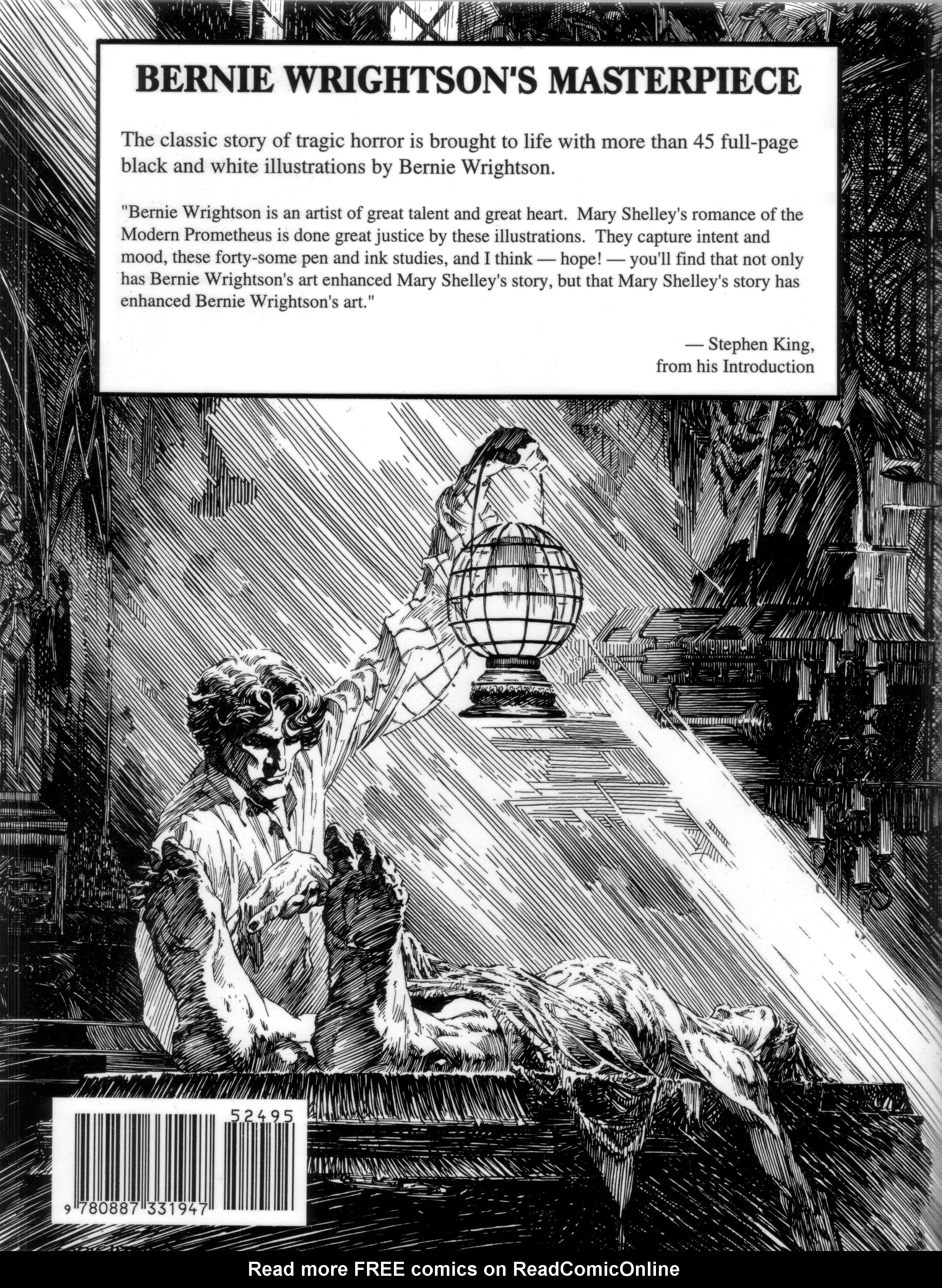 Read online Bernie Wrightson's Frankenstein comic -  Issue # Full - 46