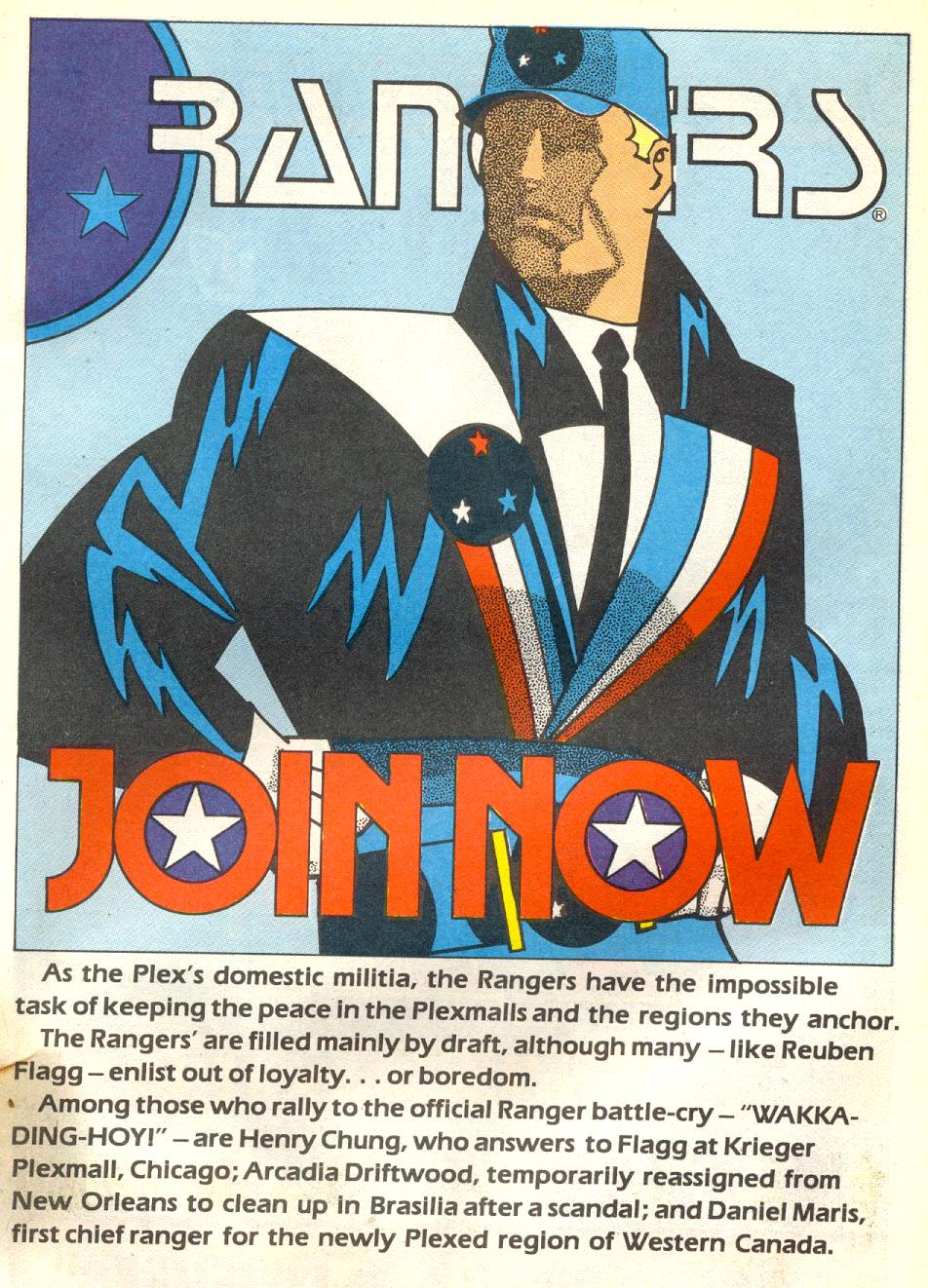 Read online American Flagg! comic -  Issue #17 - 23