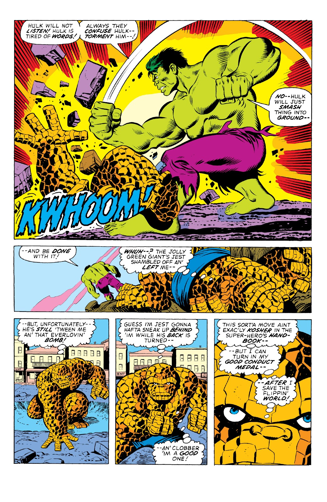Read online Marvel Two-In-One Epic Collection: Cry Monster comic -  Issue # TPB (Part 1) - 21