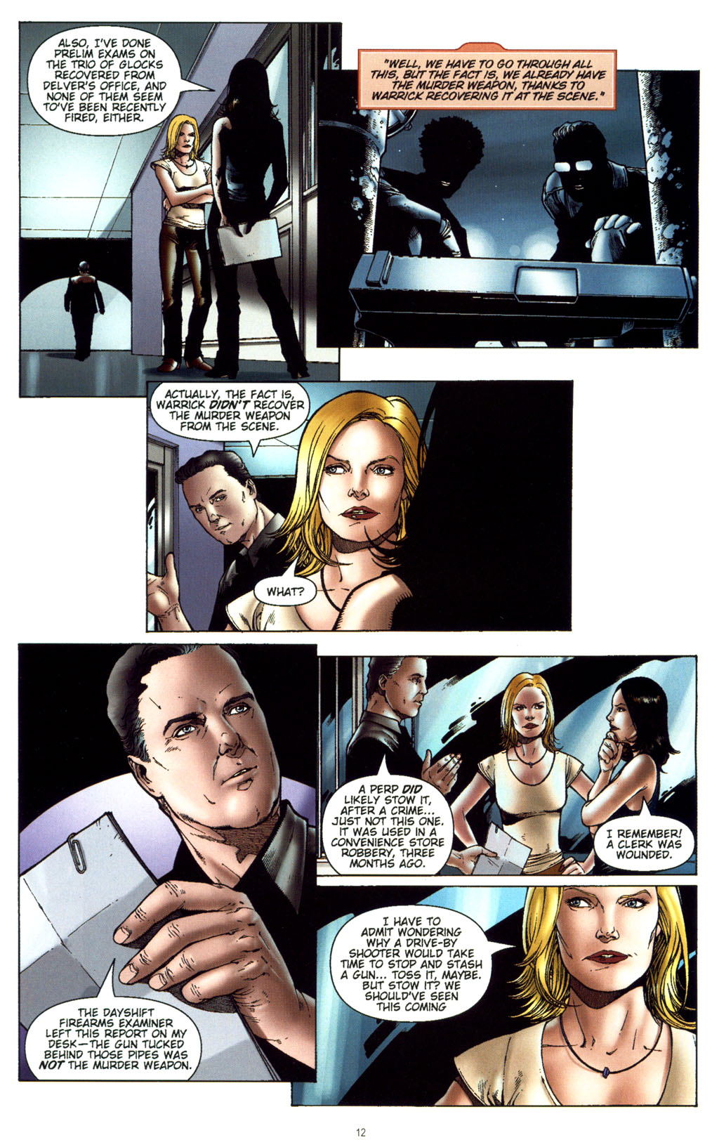 Read online CSI: Crime Scene Investigation: Bad Rap comic -  Issue #5 - 15