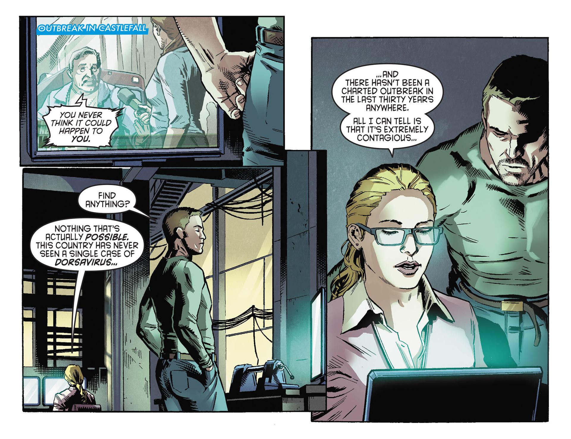 Read online Arrow [II] comic -  Issue #30 - 5