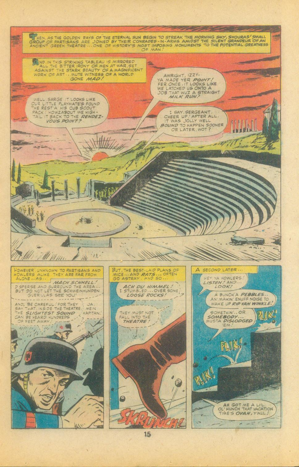 Read online Sgt. Fury comic -  Issue #135 - 17