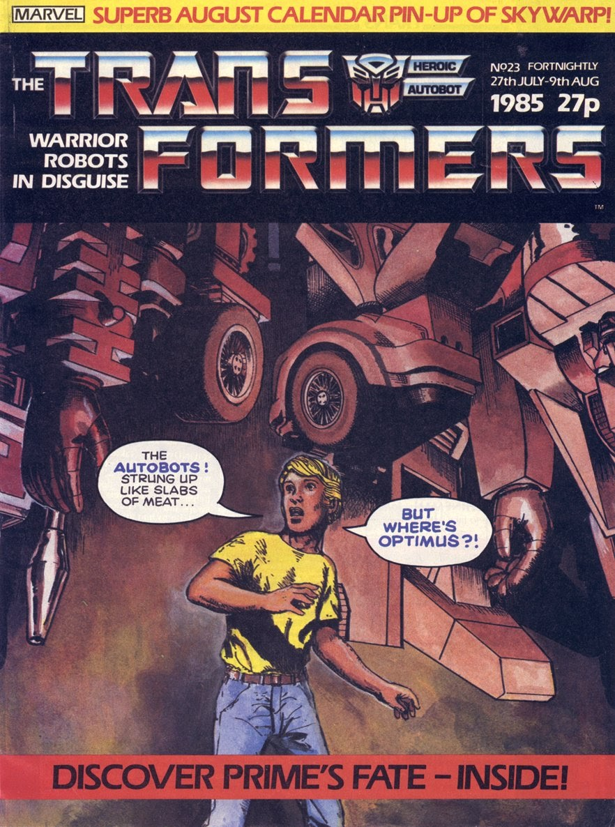 The Transformers (UK) 23 Page 1