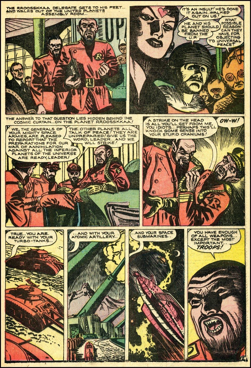 Read online Adventures into Weird Worlds comic -  Issue #25 - 23