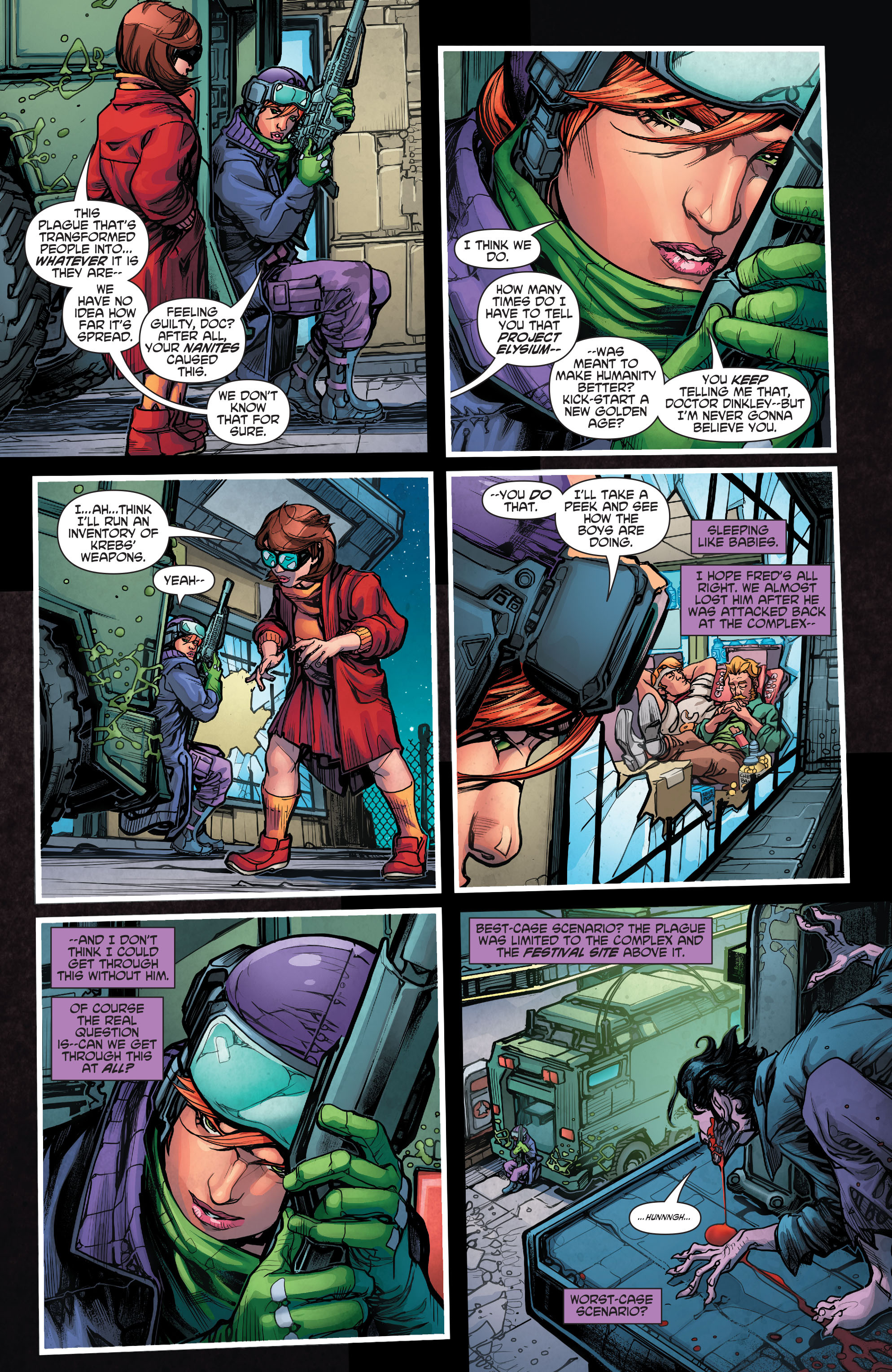 Read online Scooby Apocalypse comic -  Issue #4 - 7