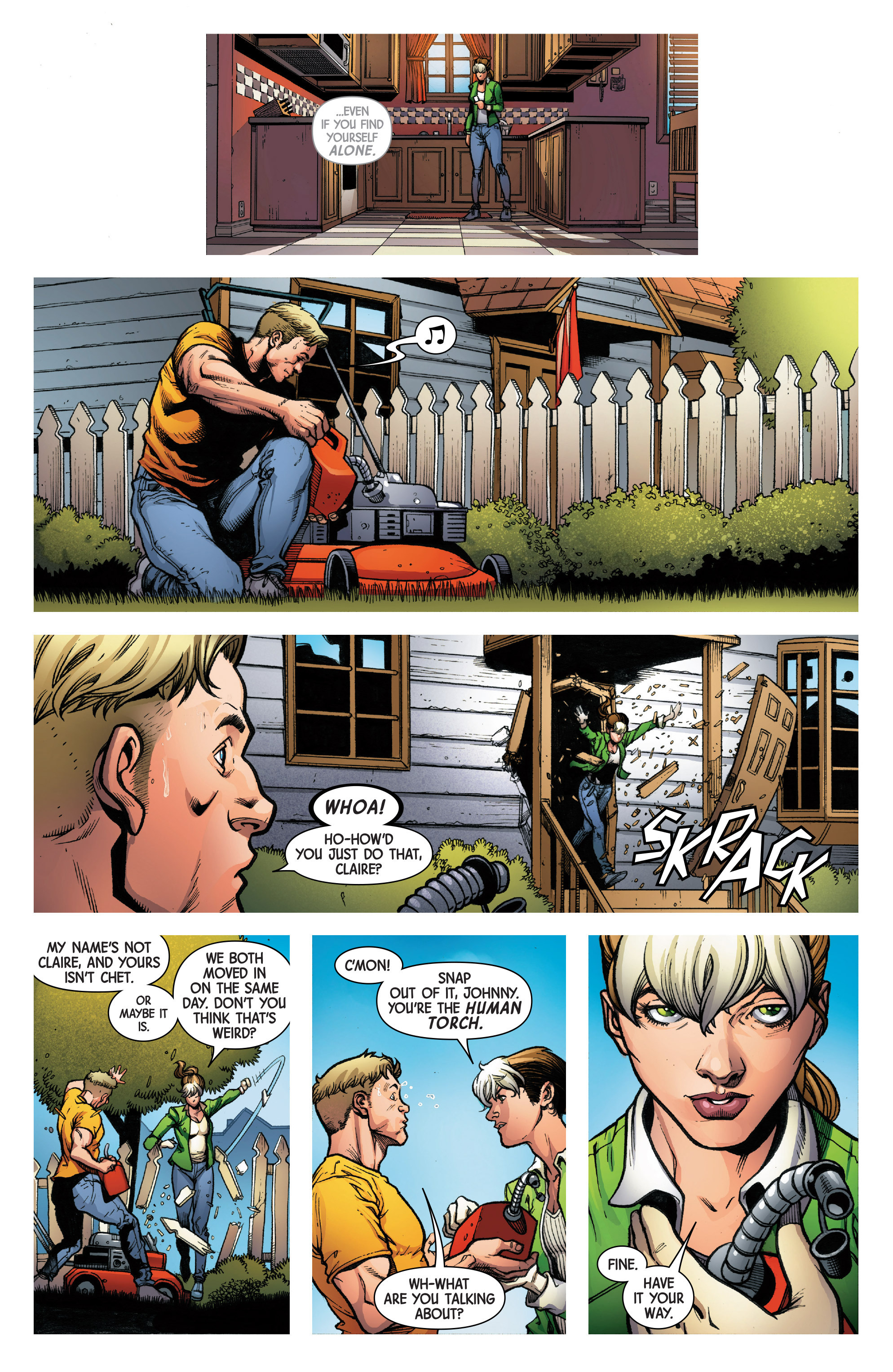 Read online Uncanny Avengers [II] comic -  Issue #8 - 9