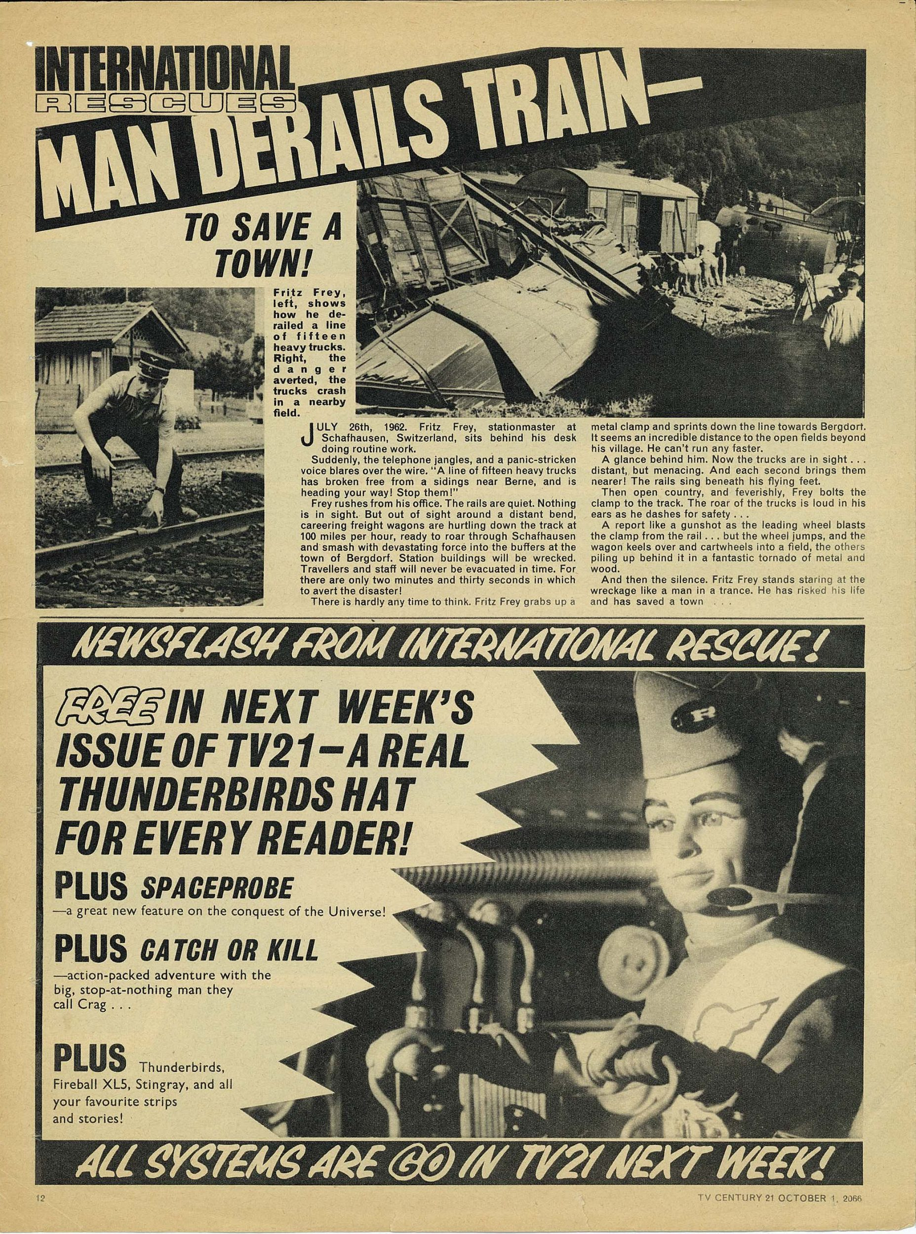 Read online TV Century 21 (TV 21) comic -  Issue #89 - 11