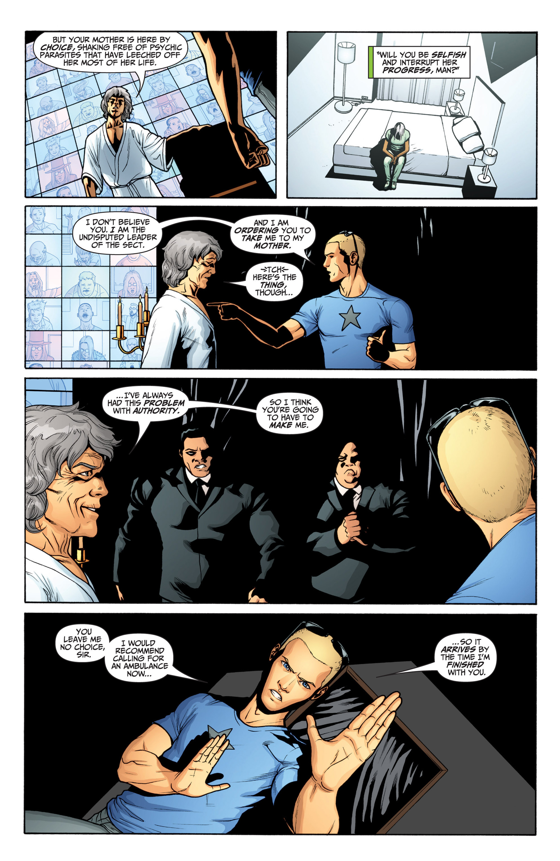 Read online Archer and Armstrong comic -  Issue #20 - 10