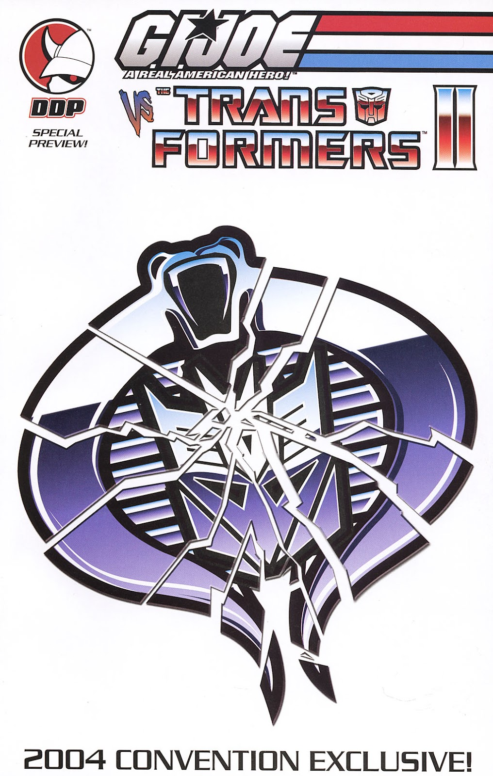 G.I. Joe vs. The Transformers II Issue #0 #1 - English 1