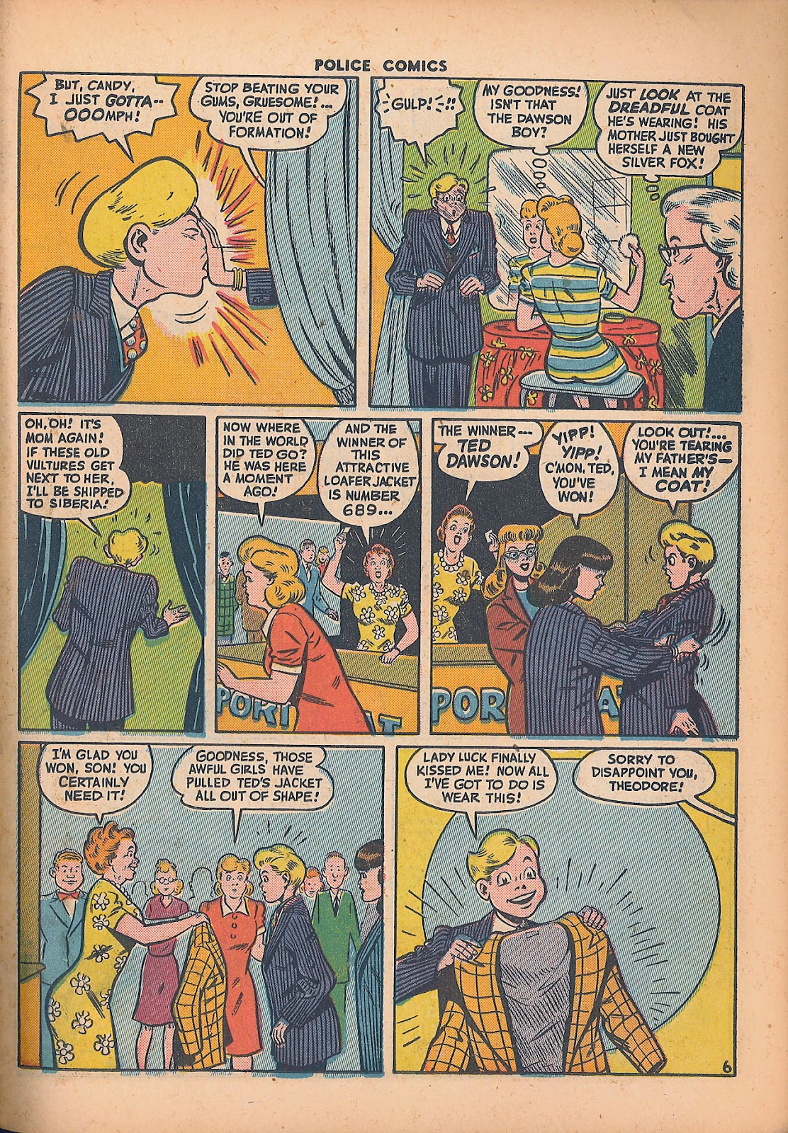 Police Comics issue 44 - Page 35