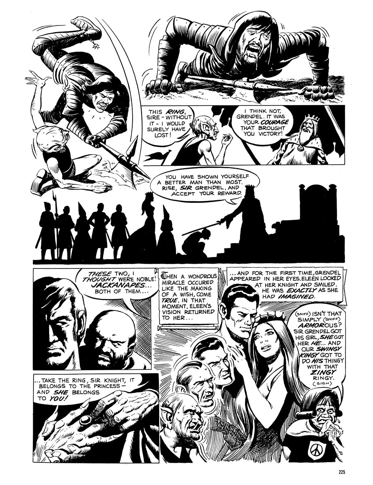Read online Eerie Archives comic -  Issue # TPB 5 - 226