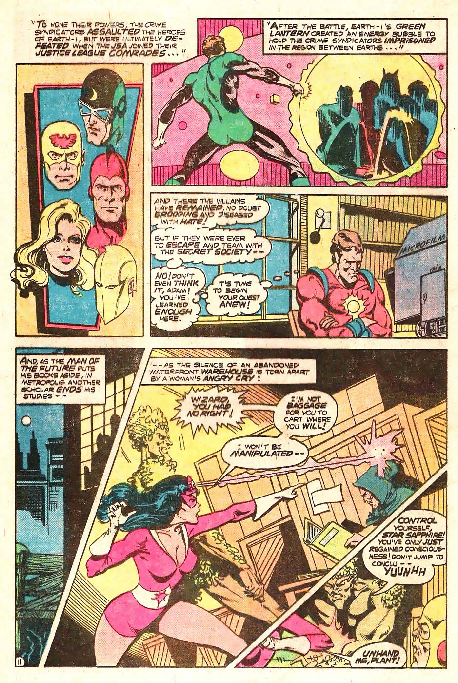 Read online Secret Society of Super-Villains comic -  Issue #13 - 12