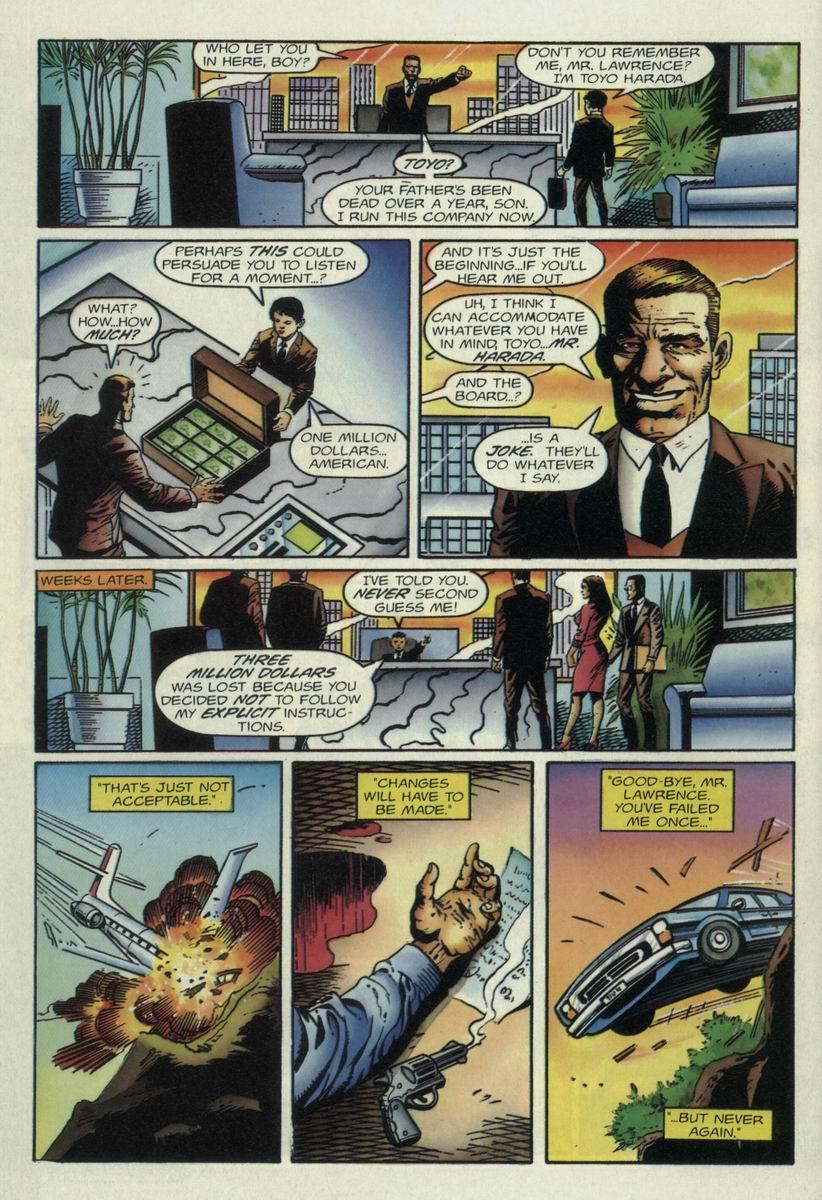 Read online Harbinger Files comic -  Issue #1 - 15