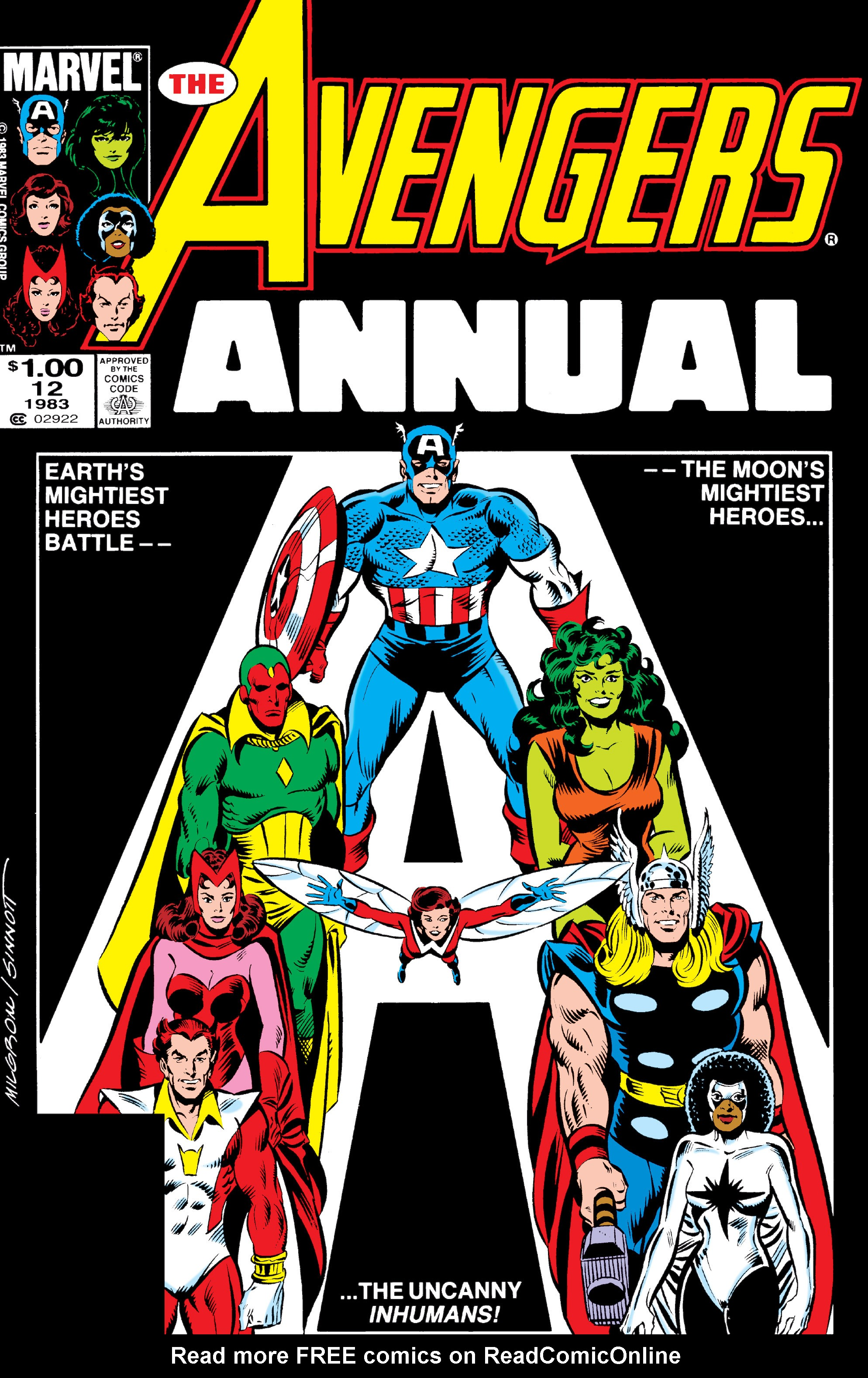 The Avengers (1963) _Annual_12 Page 0
