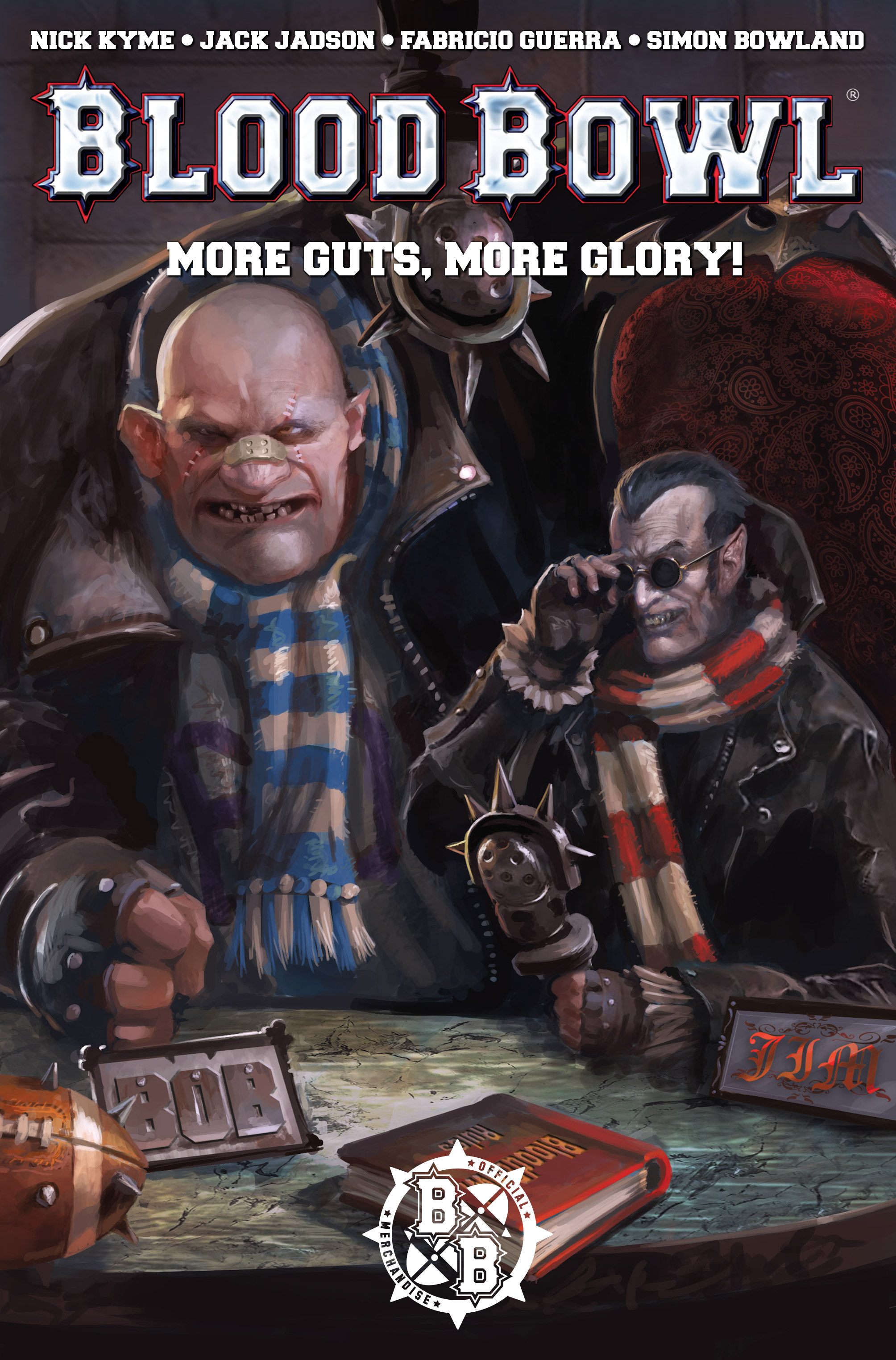 Read online Blood Bowl: More Guts, More Glory! comic -  Issue #1 - 2