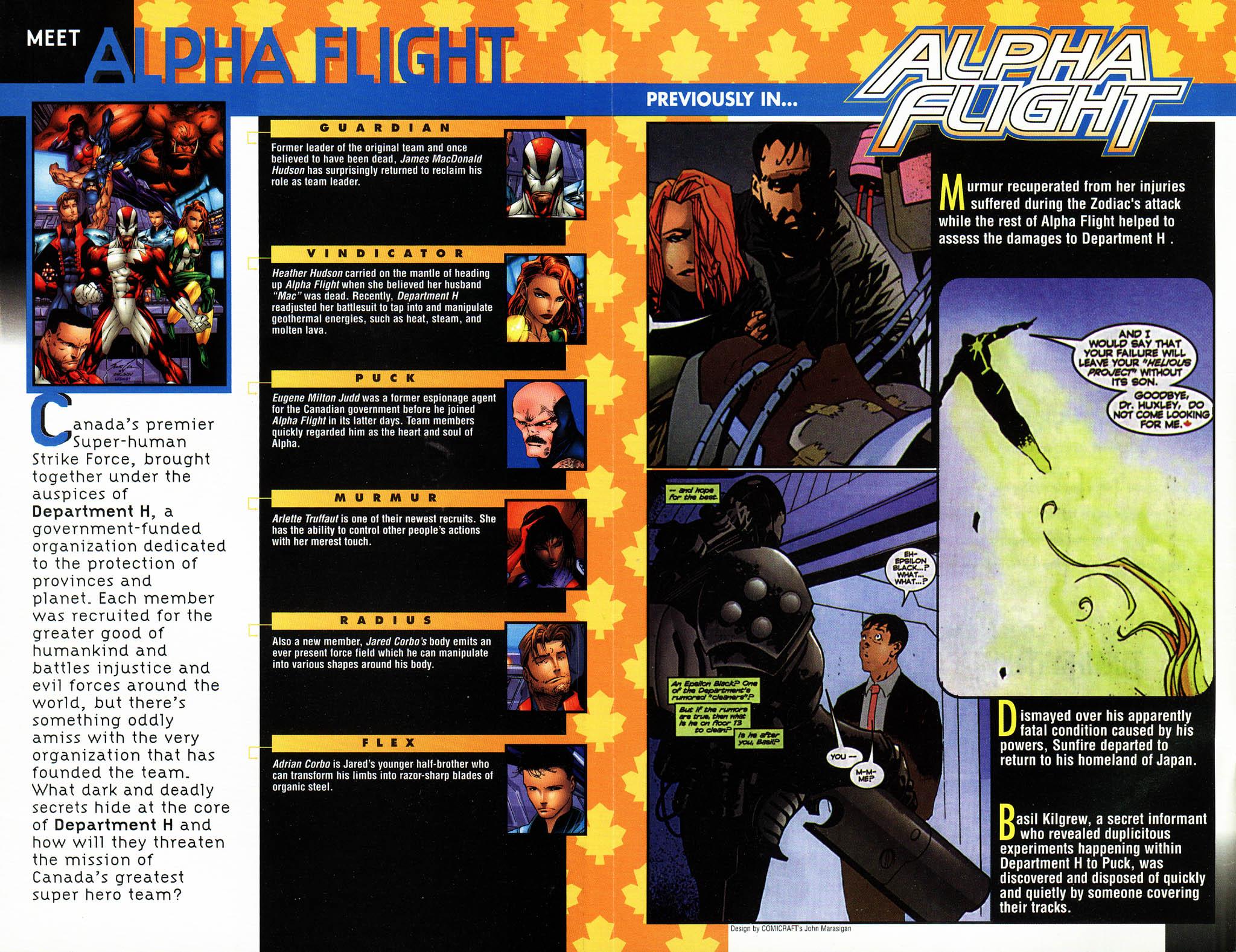 Read online Alpha Flight (1997) comic -  Issue #14 - 3