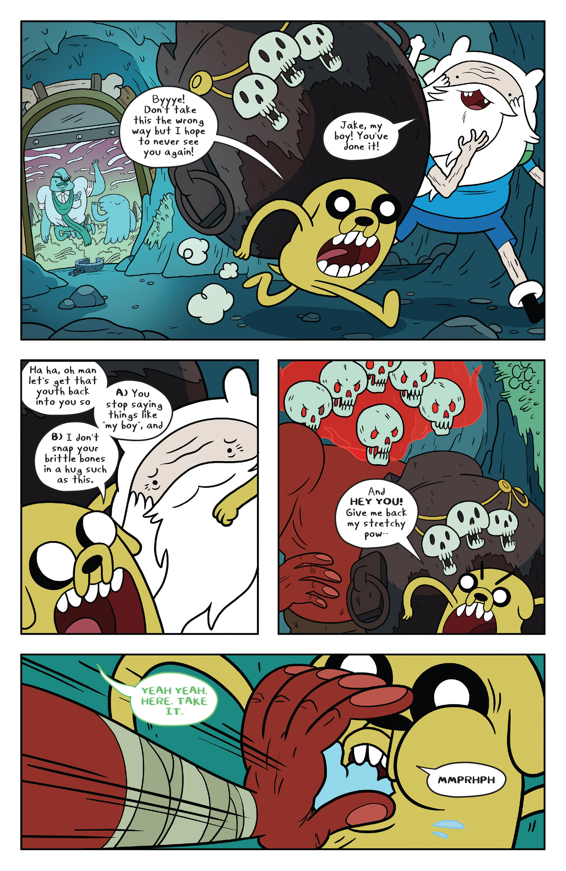 Read online Adventure Time comic -  Issue #53 - 23
