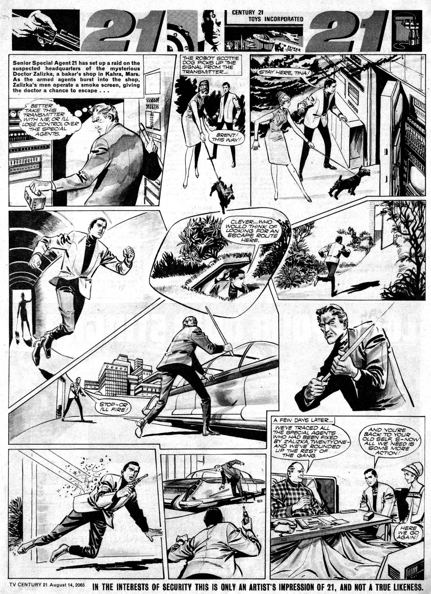 Read online TV Century 21 (TV 21) comic -  Issue #30 - 7