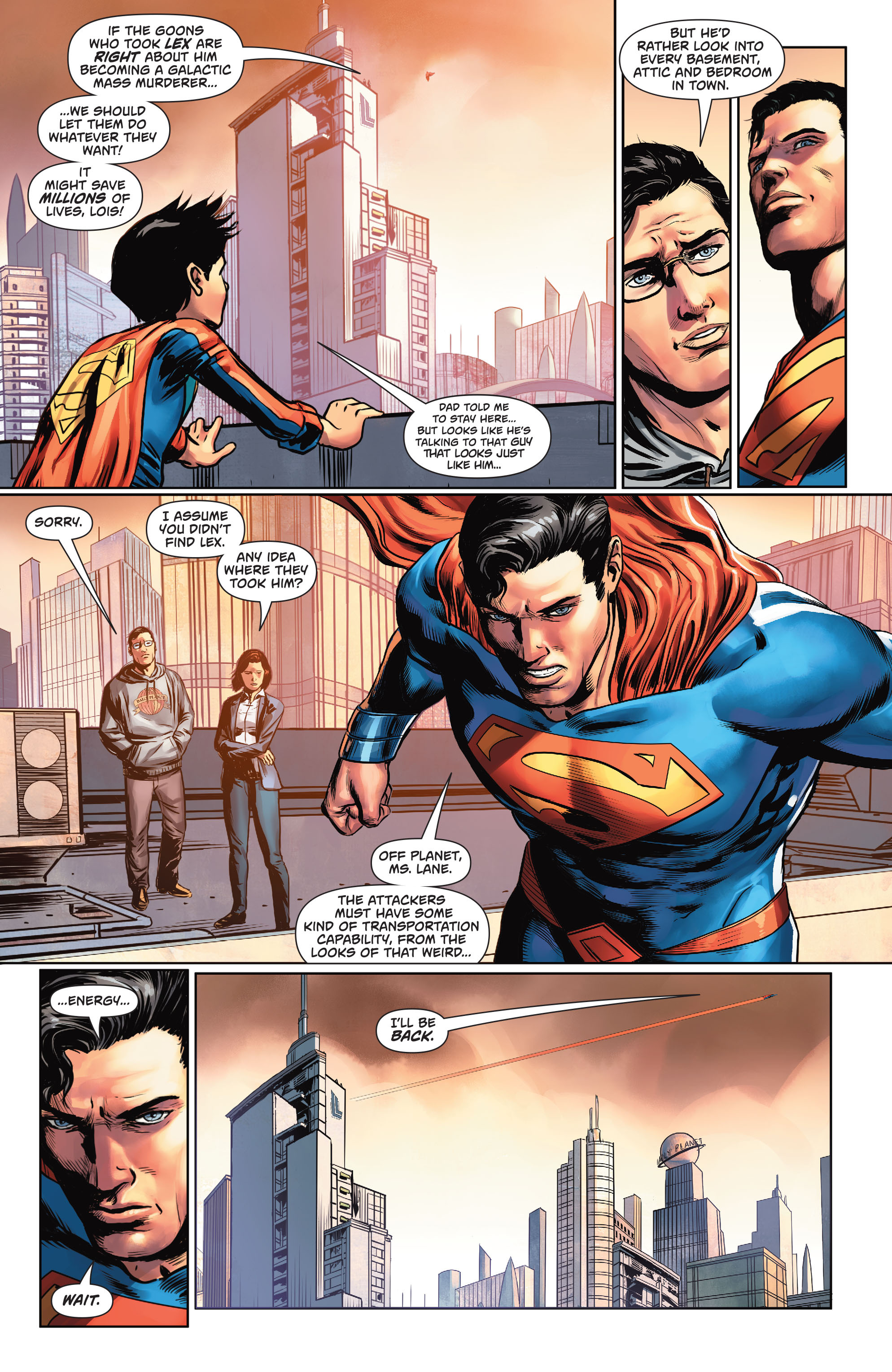 Read online Action Comics (2016) comic -  Issue #969 - 5