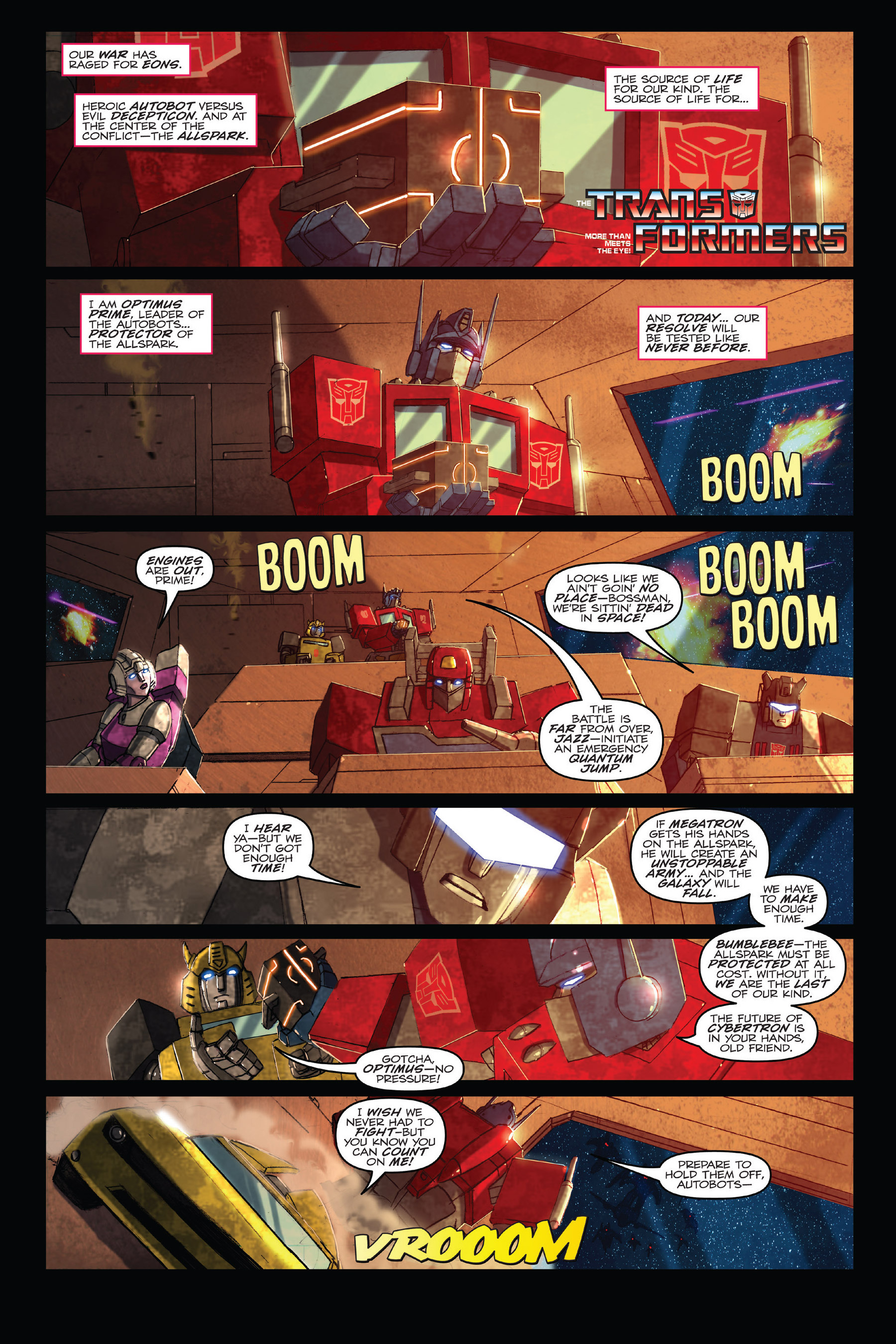 Read online Angry Birds Transformers: Age of Eggstinction comic -  Issue # Full - 6