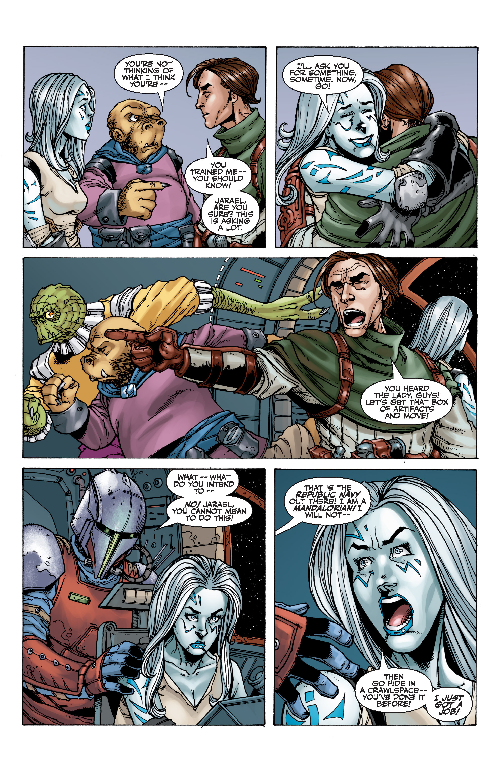 Read online Star Wars Omnibus comic -  Issue # Vol. 32 - 294
