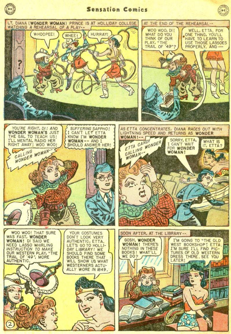 Read online Sensation (Mystery) Comics comic -  Issue #87 - 4