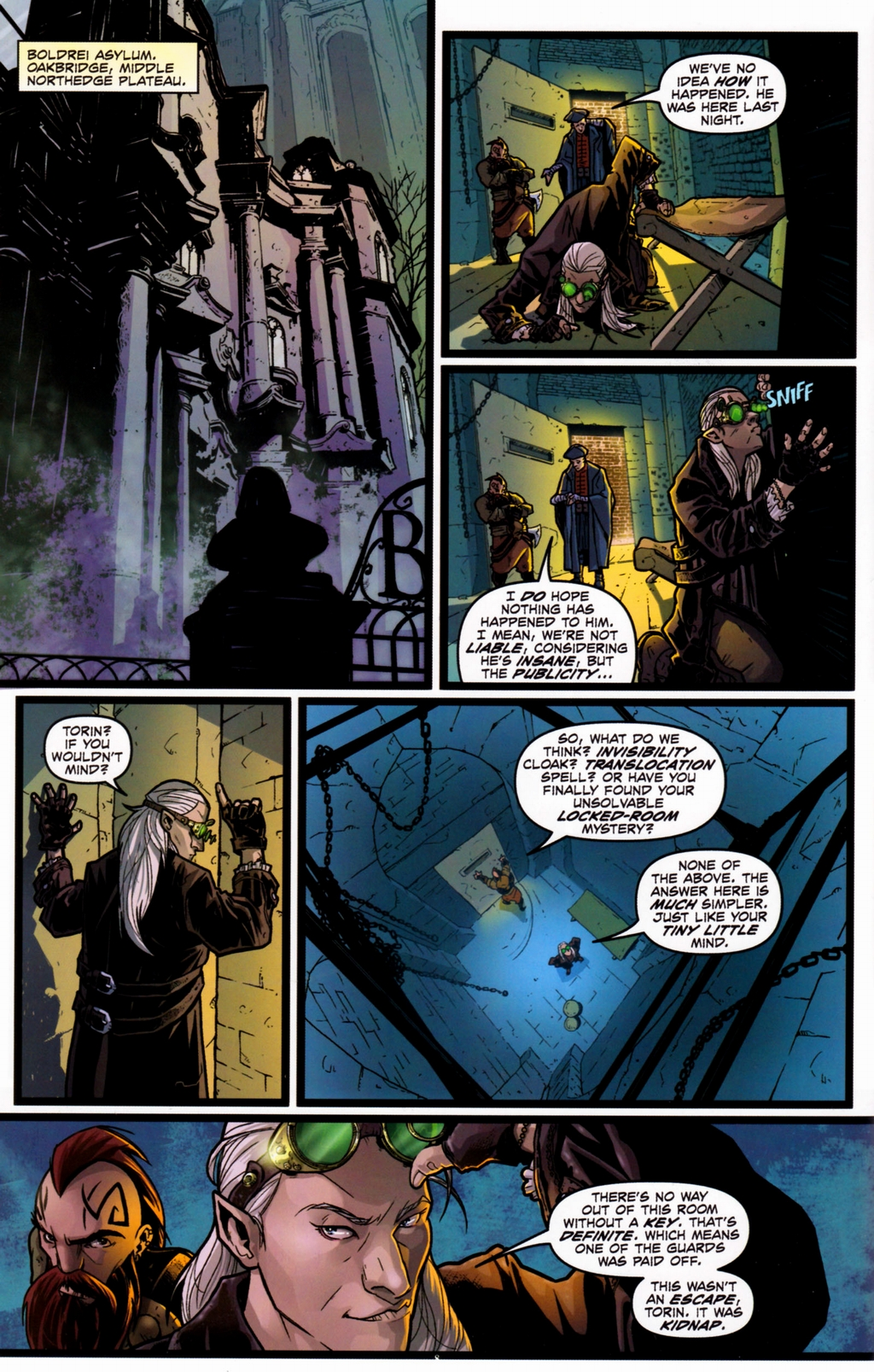Read online Infestation 2: Dungeons & Dragons comic -  Issue #1 - 11