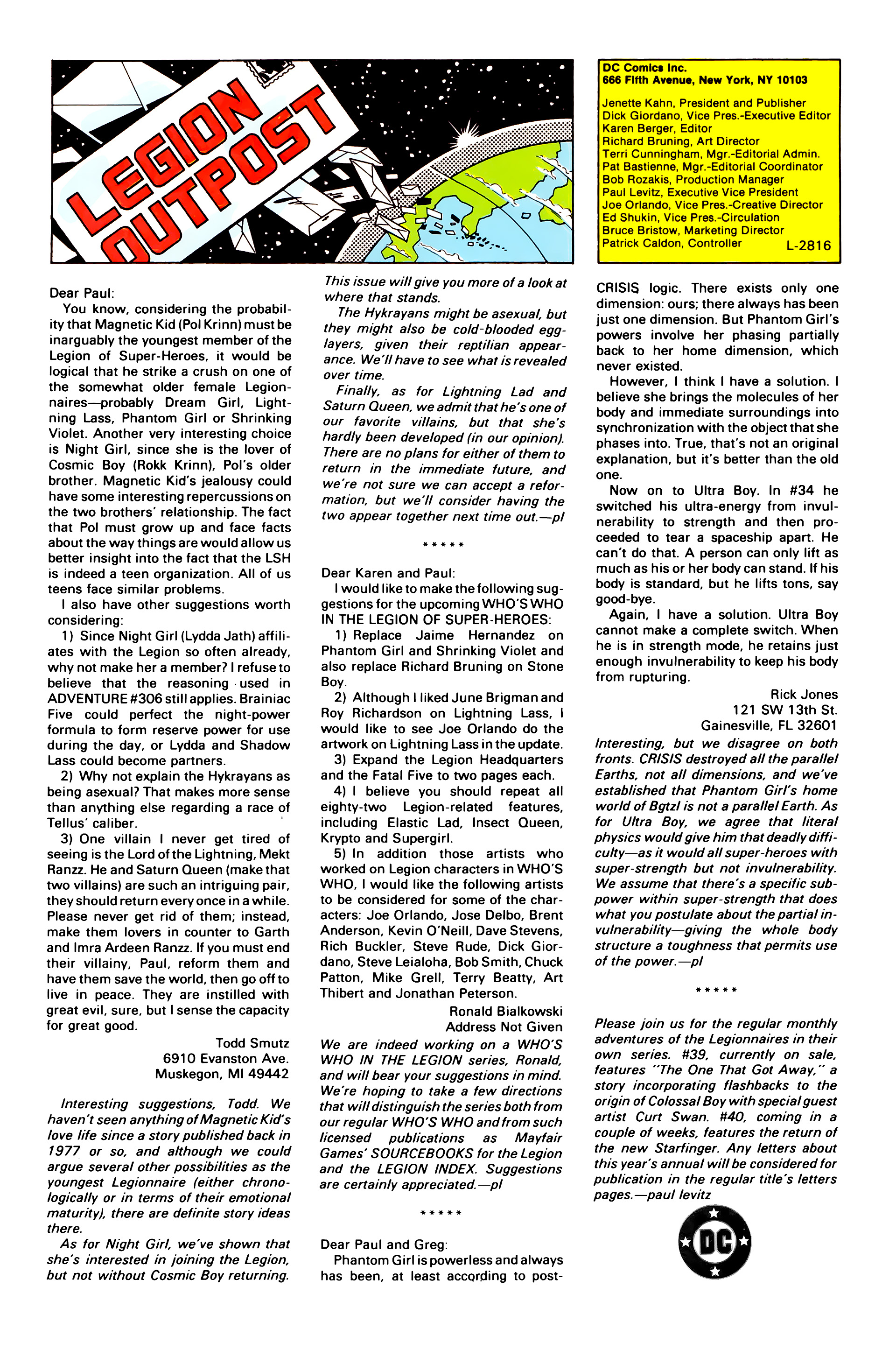 Legion of Super-Heroes (1984) _Annual_3 Page 44