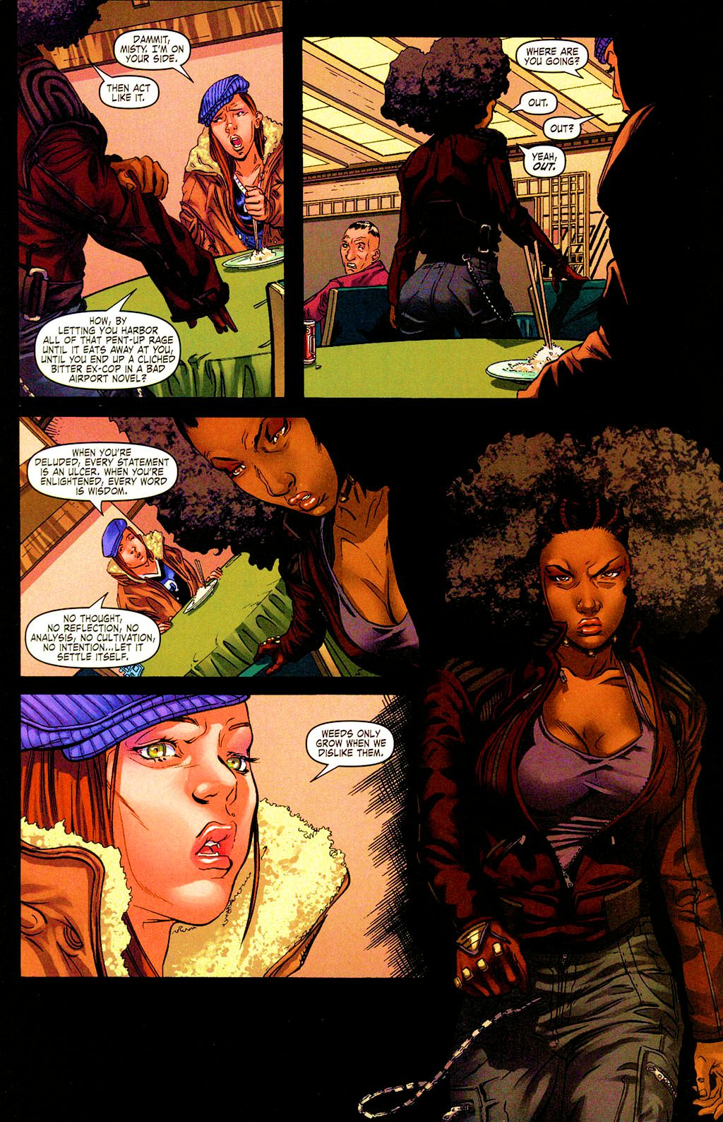 Read online Daughters of the Dragon comic -  Issue #4 - 23