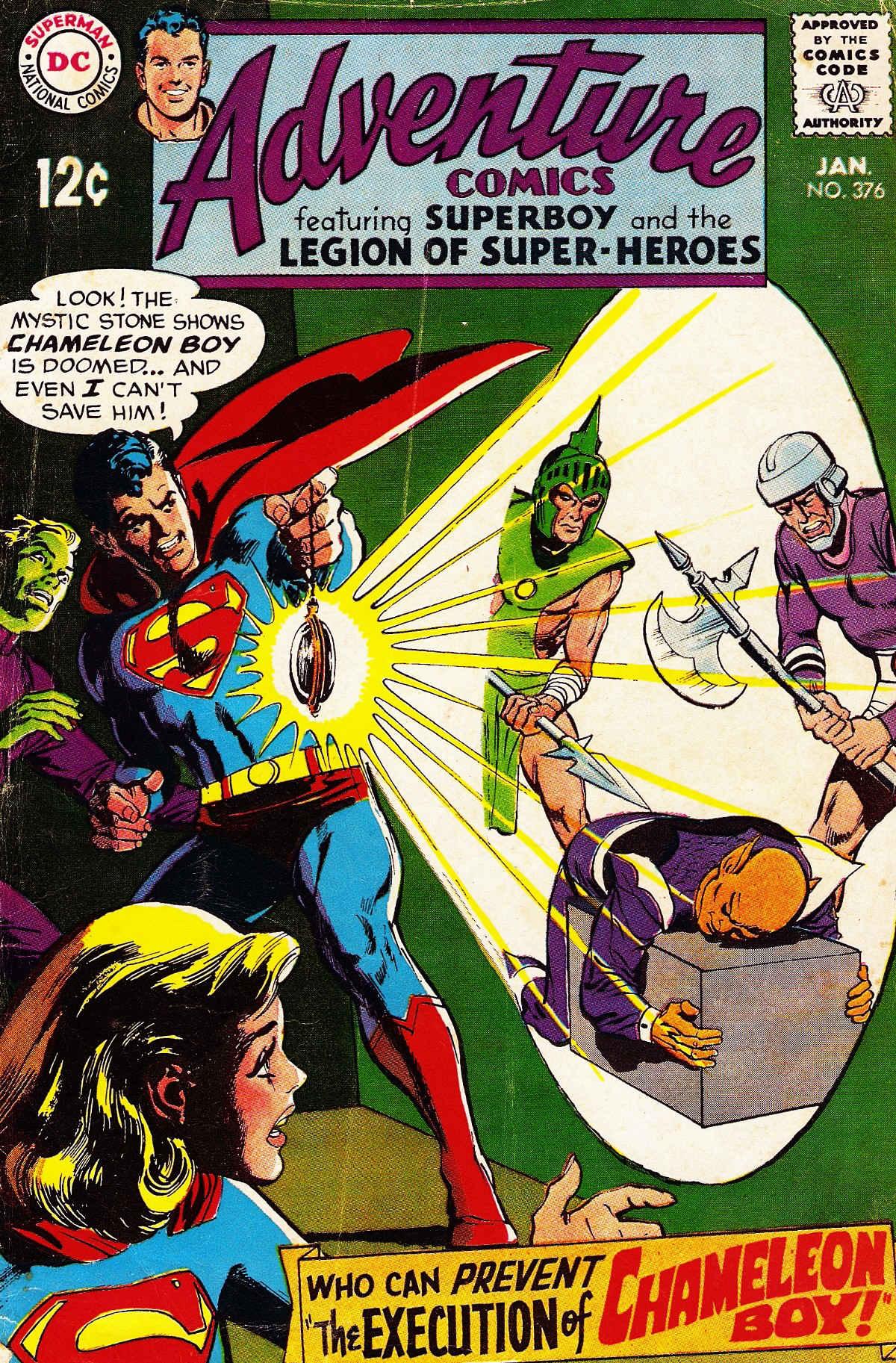 Read online Adventure Comics (1938) comic -  Issue #376 - 1