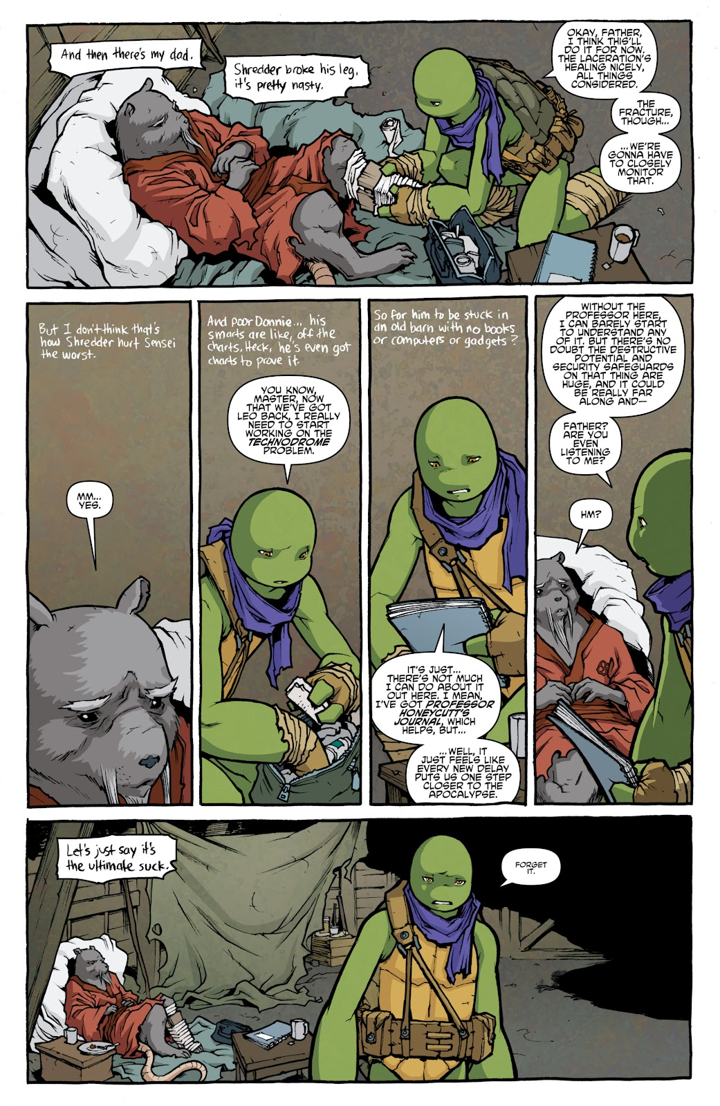Read online Teenage Mutant Ninja Turtles: The IDW Collection comic -  Issue # TPB 4 (Part 1) - 59