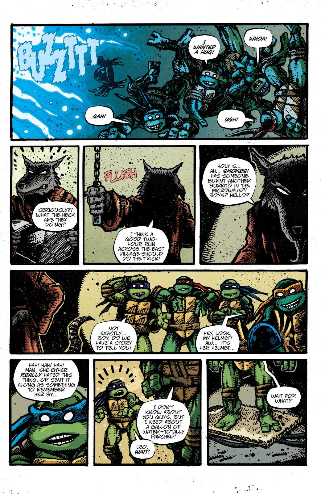 Read online Teenage Mutant Ninja Turtles: The IDW Collection comic -  Issue # TPB 4 (Part 3) - 7