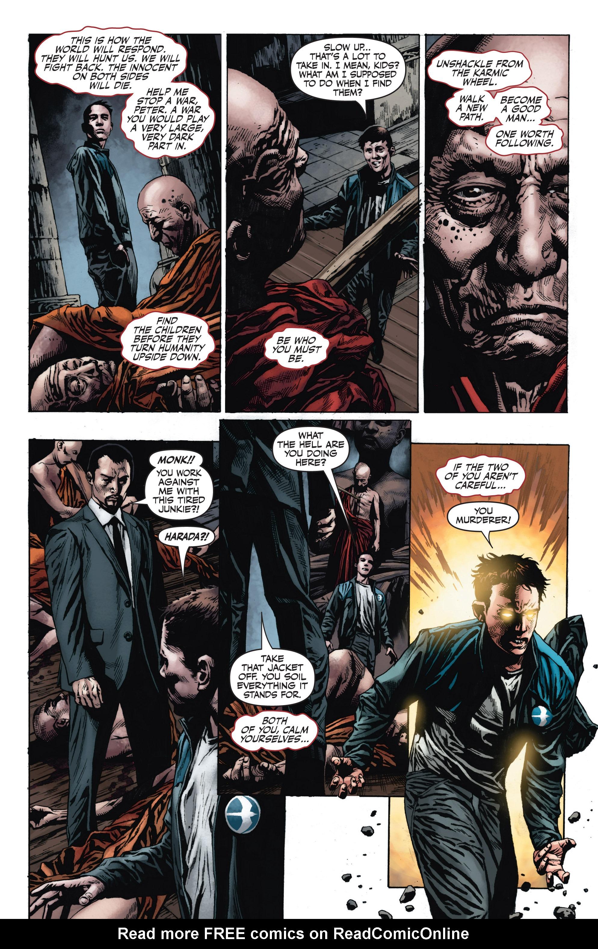 Read online Armor Hunters: Harbinger comic -  Issue # TPB - 93