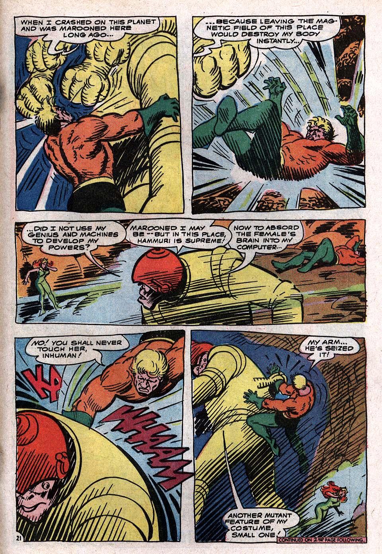 Read online Aquaman (1962) comic -  Issue #34 - 29