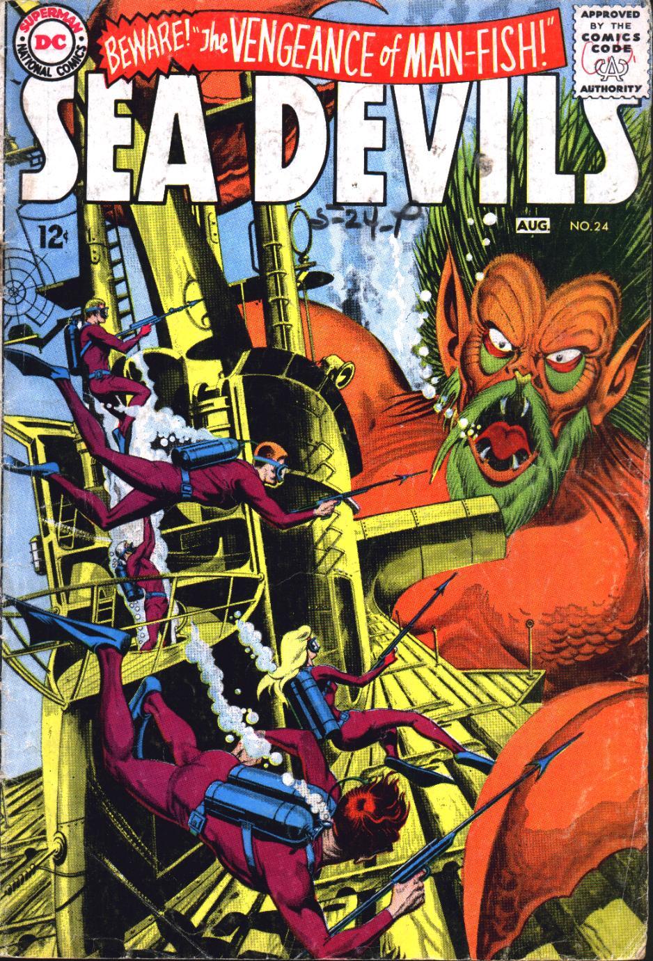 Read online Sea Devils comic -  Issue #24 - 2
