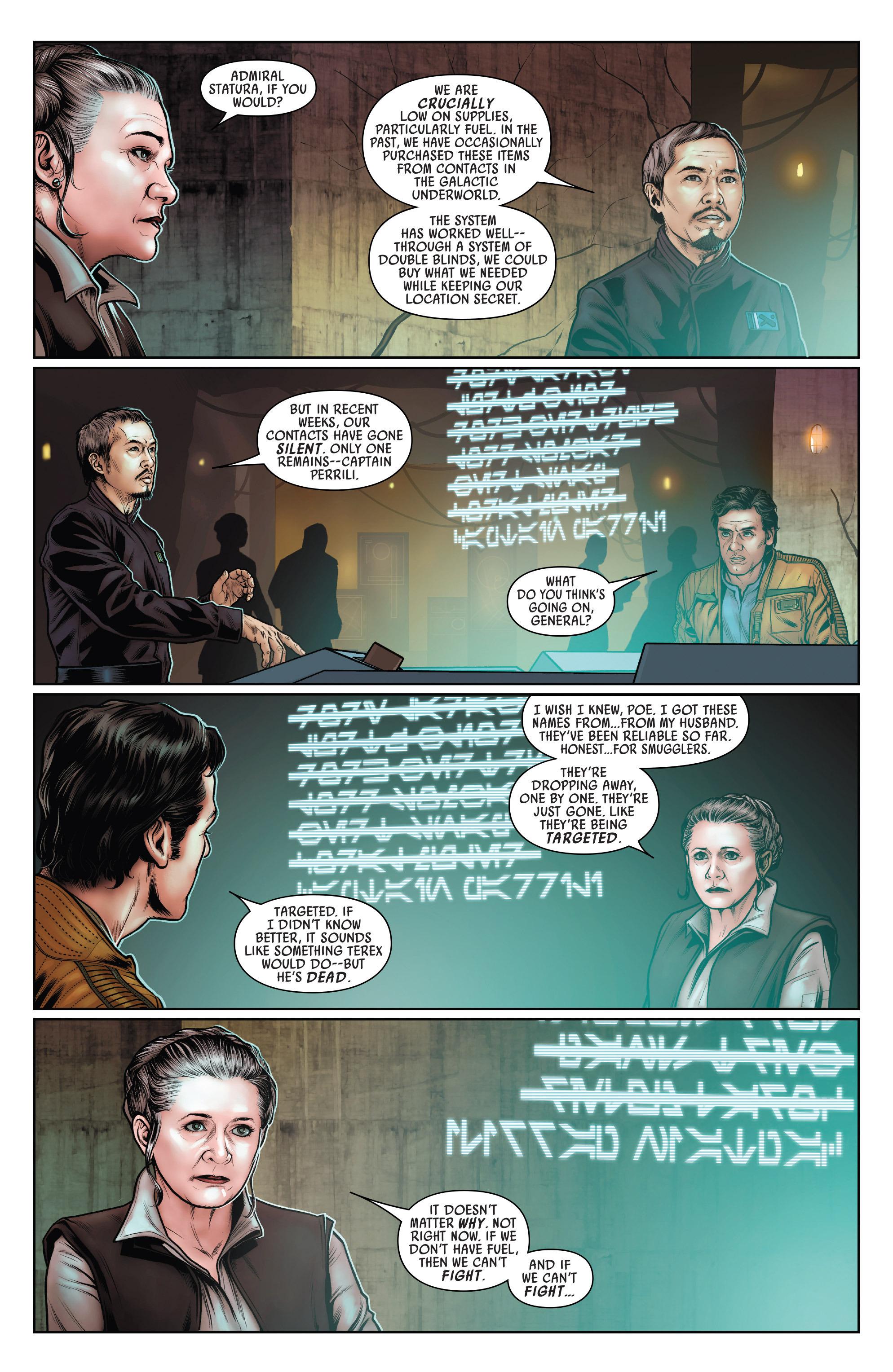 Read online Star Wars: Poe Dameron comic -  Issue #15 - 4