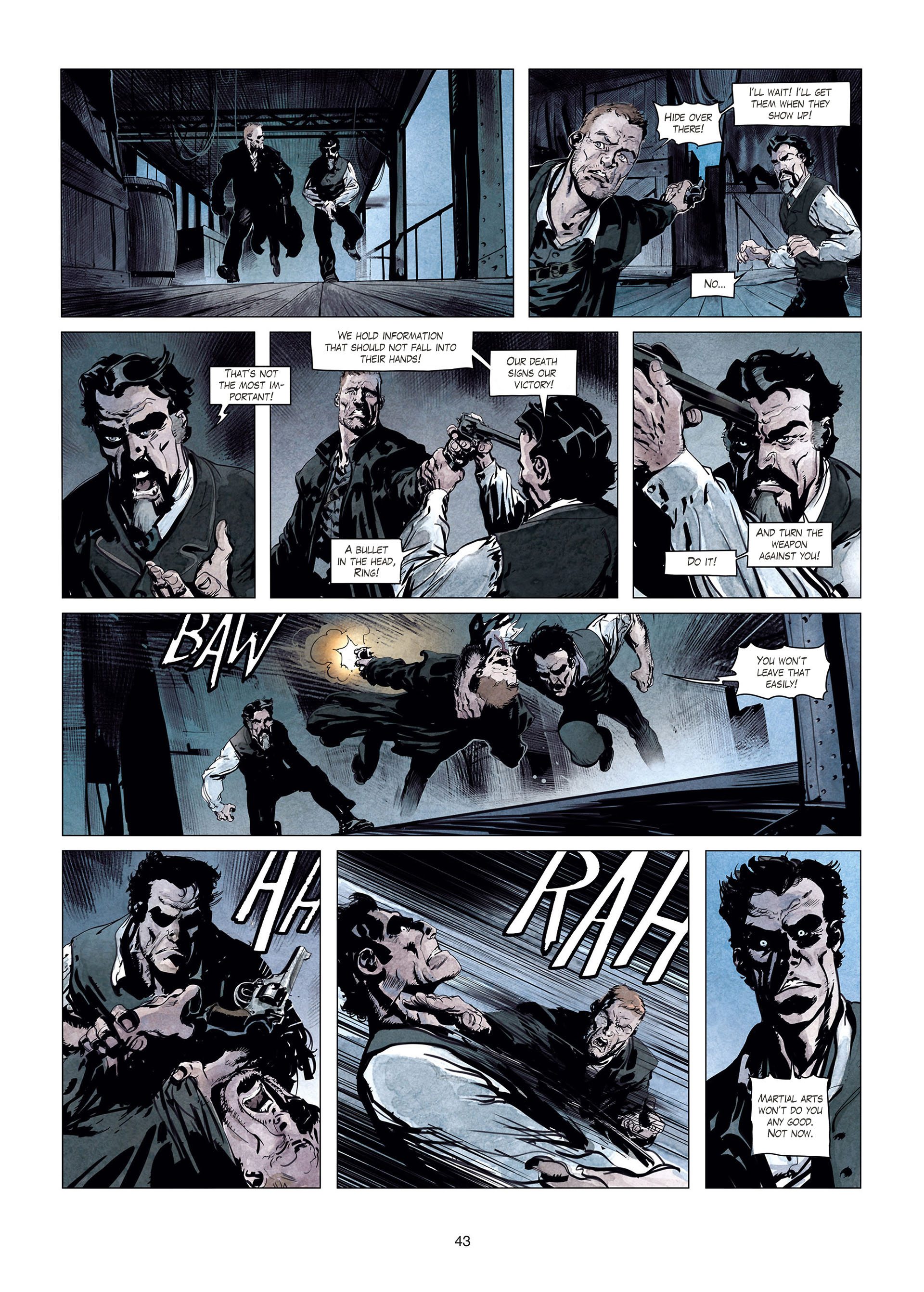 Read online Sherlock Holmes Society Tome 4 : Contamination comic -  Issue # Full - 43