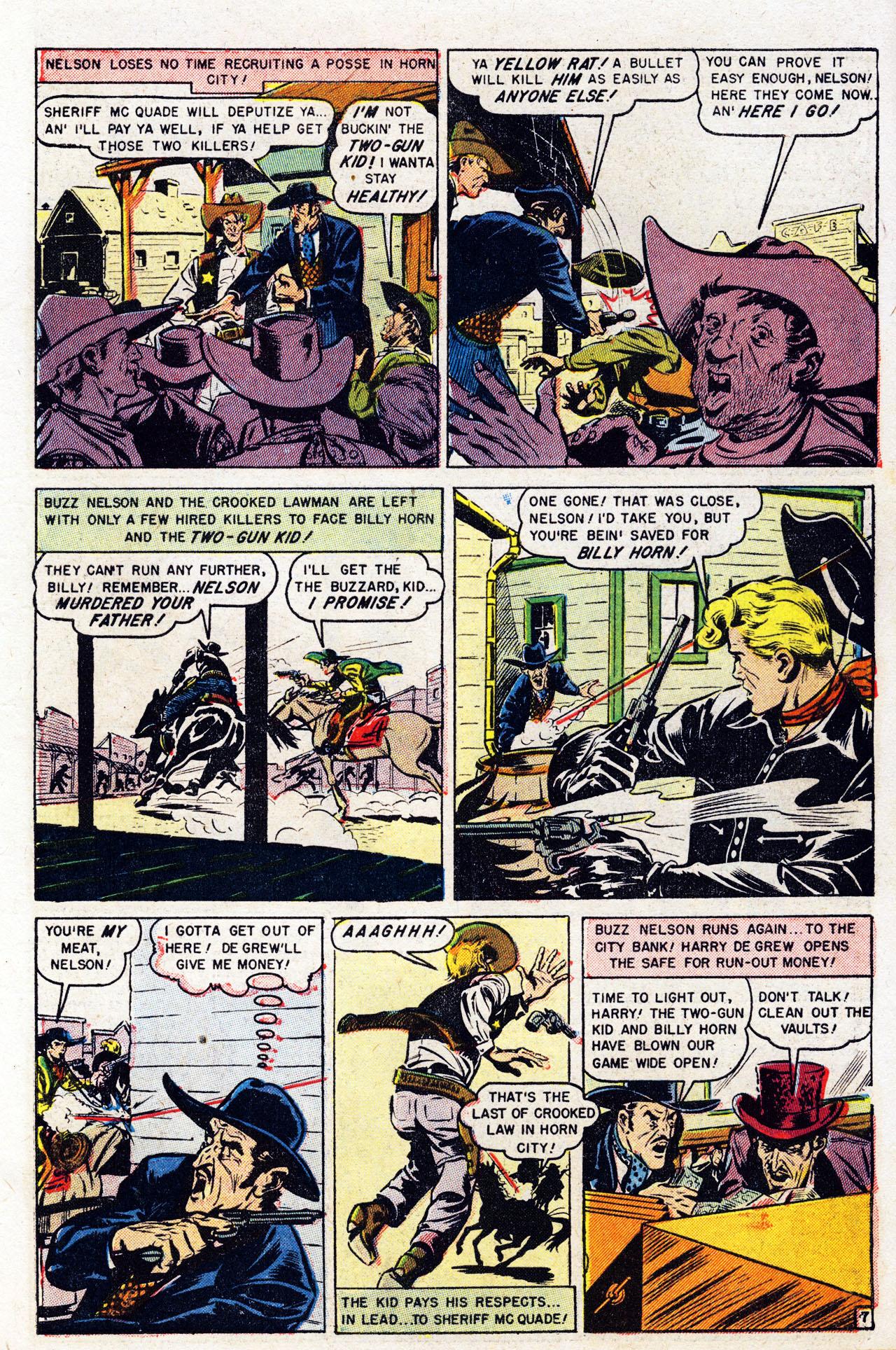 Read online Two-Gun Kid comic -  Issue #7 - 9