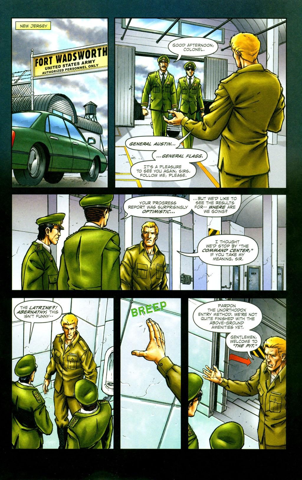 Read online Snake Eyes: Declassified comic -  Issue #6 - 3