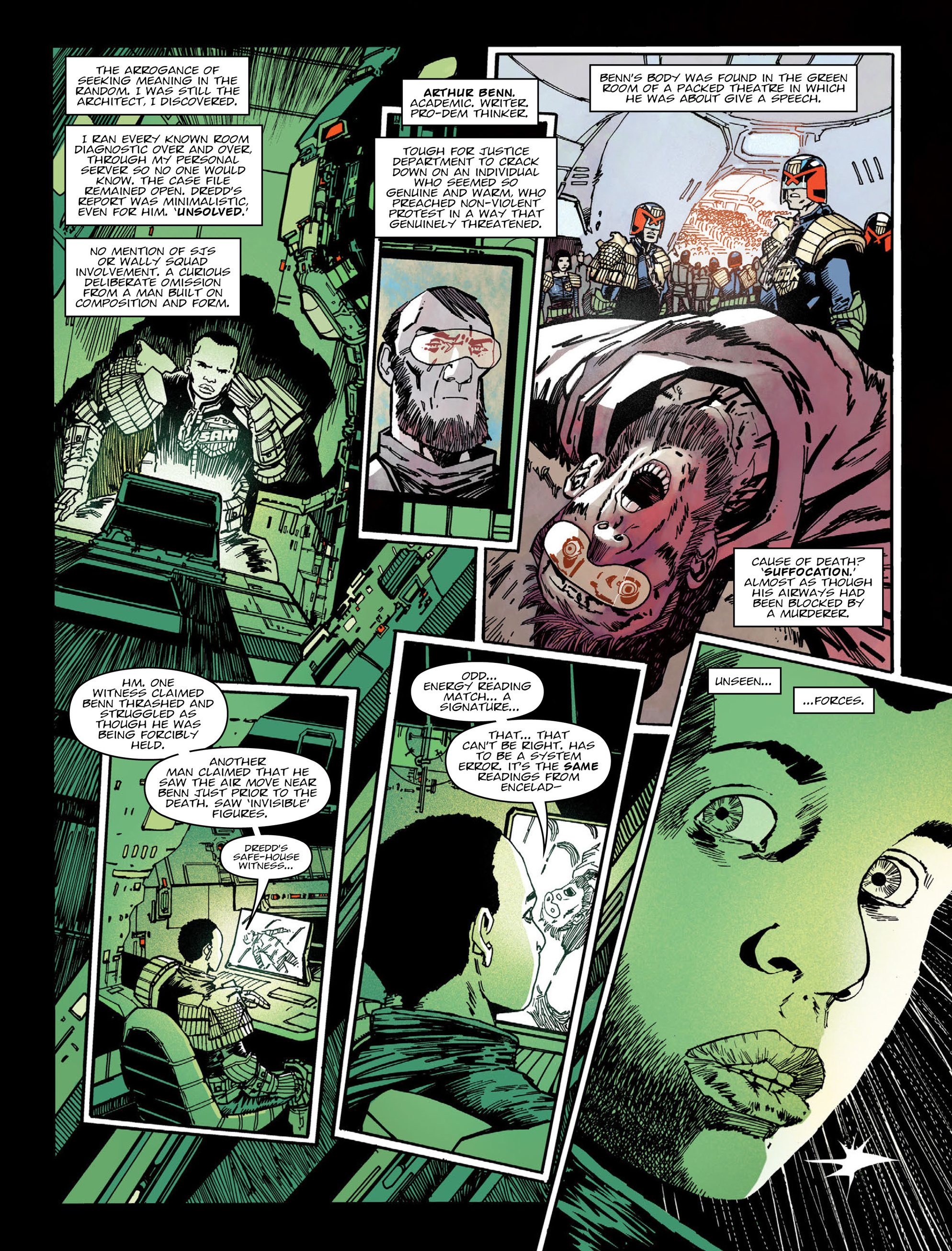 Read online 2000 AD comic -  Issue #2005 - 6